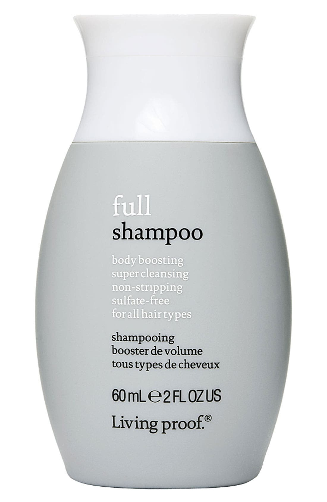 'Full' Body Boosting Shampoo for All Hair Types,                             Main thumbnail 1, color,                             000