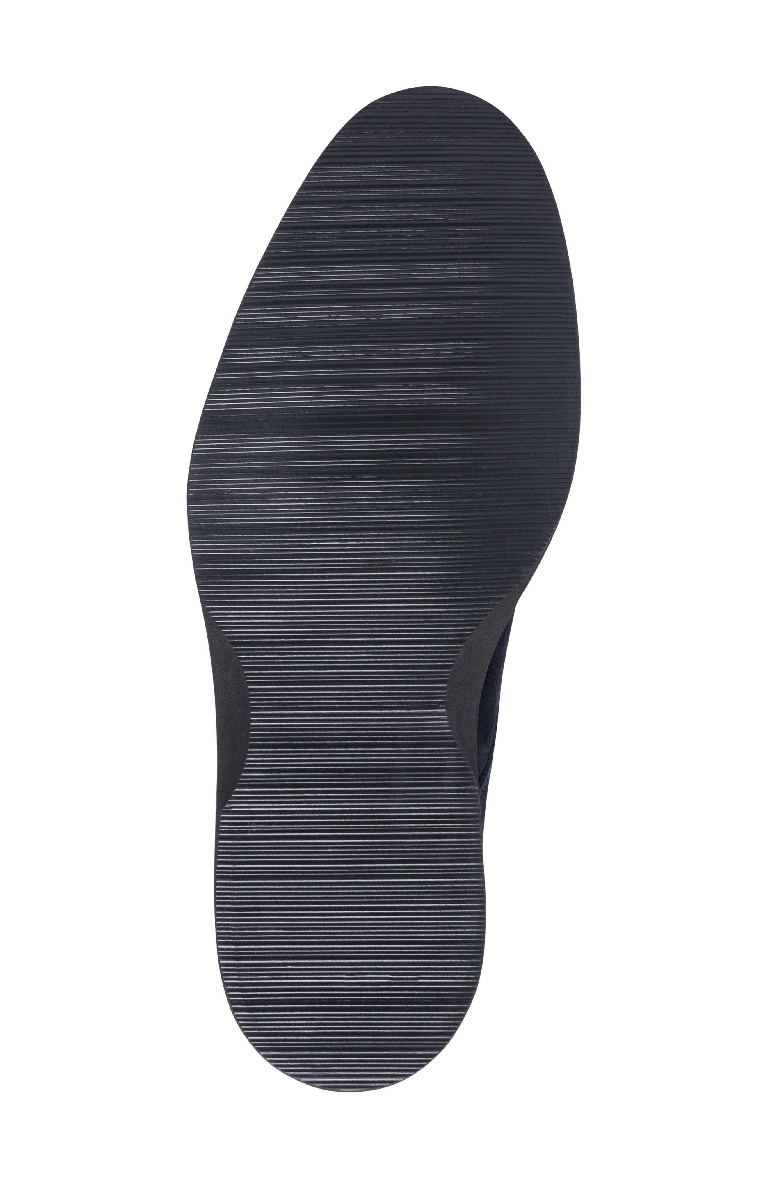 Siena Plain Toe Derby,                             Alternate thumbnail 6, color,                             BLUE SUEDE