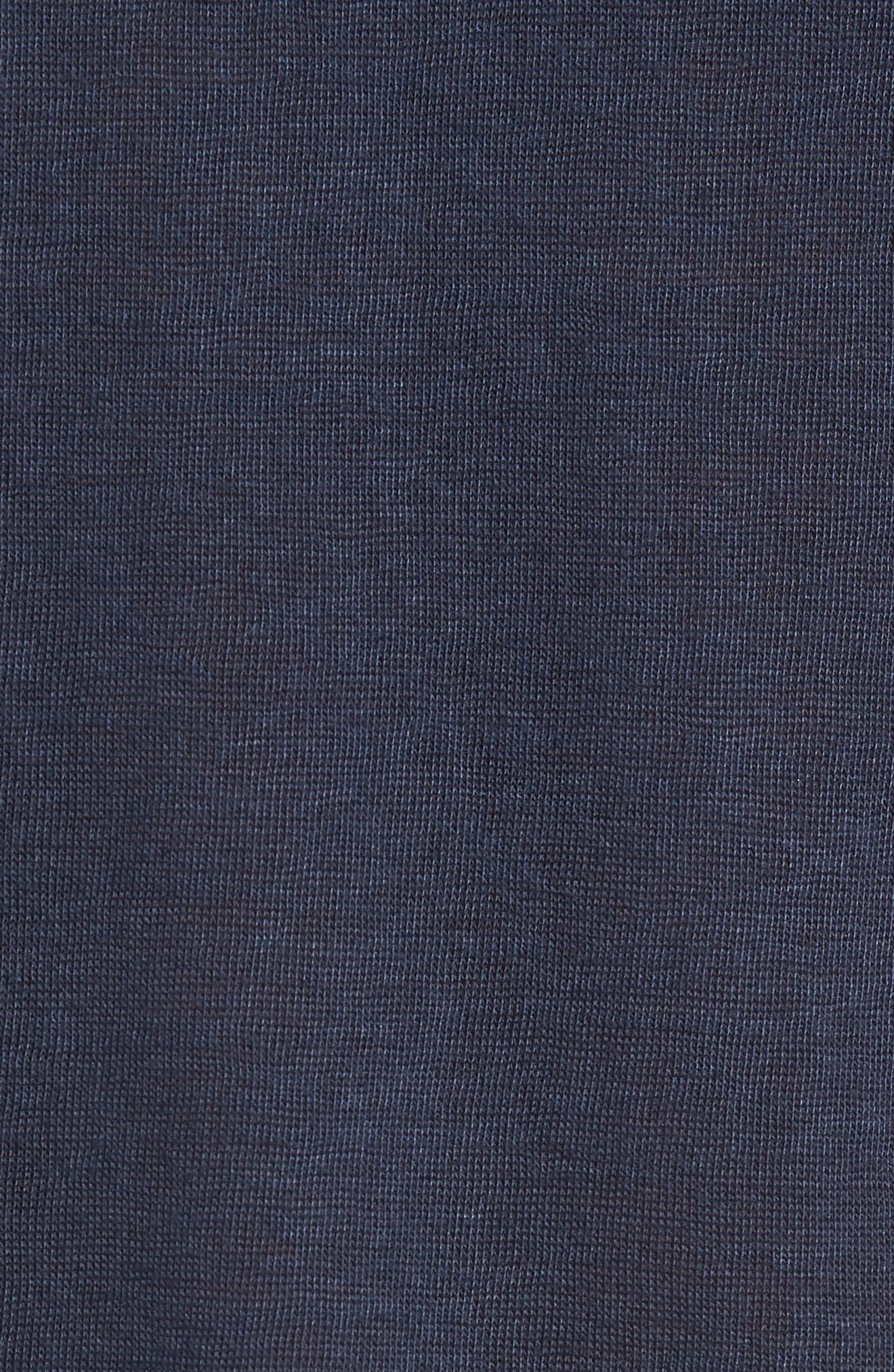 Dalmat Trim Fit Cotton & Modal Polo,                             Alternate thumbnail 5, color,                             410