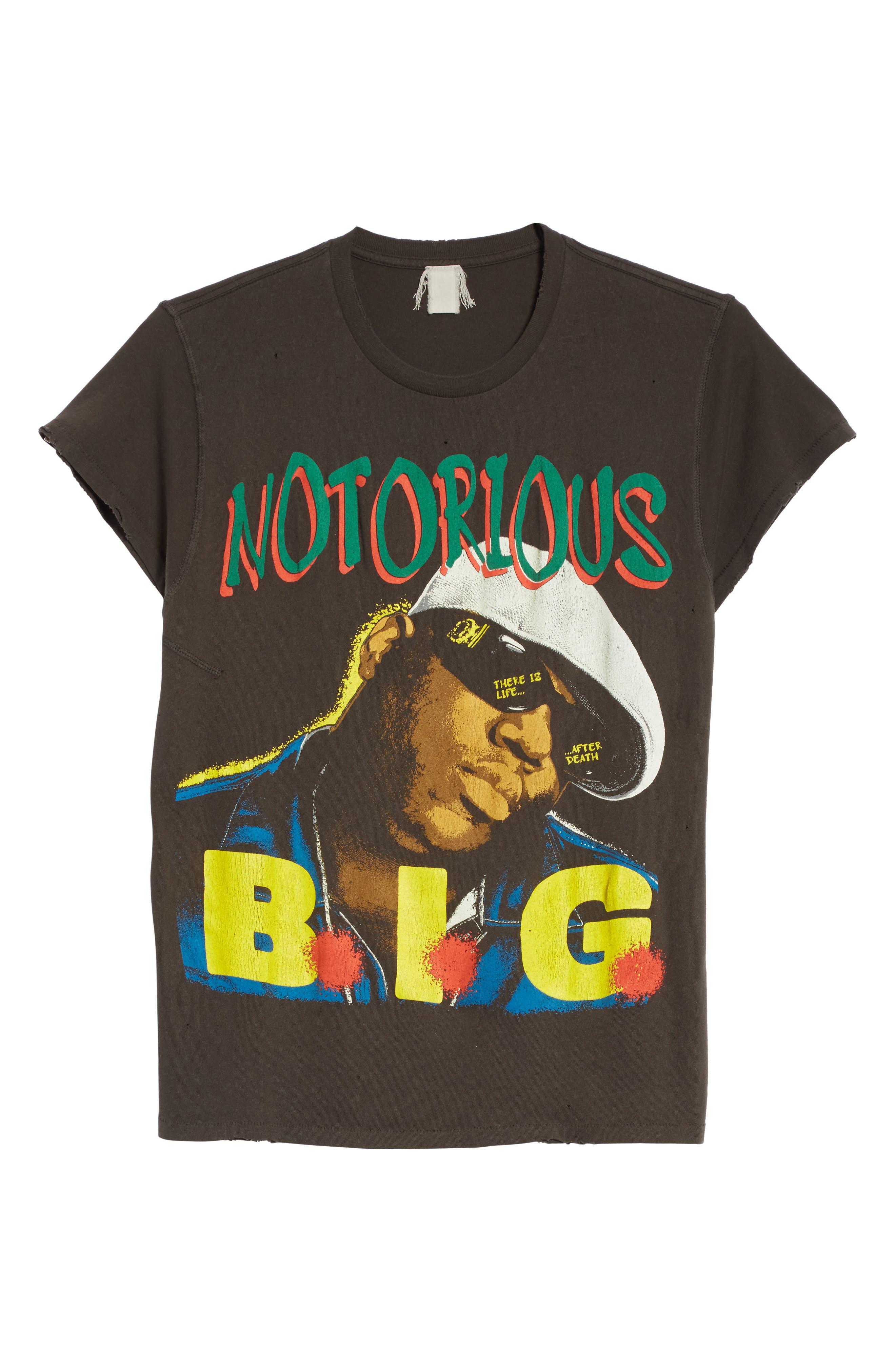 Notorious B.I.G. Graphic T-Shirt,                             Alternate thumbnail 6, color,                             001
