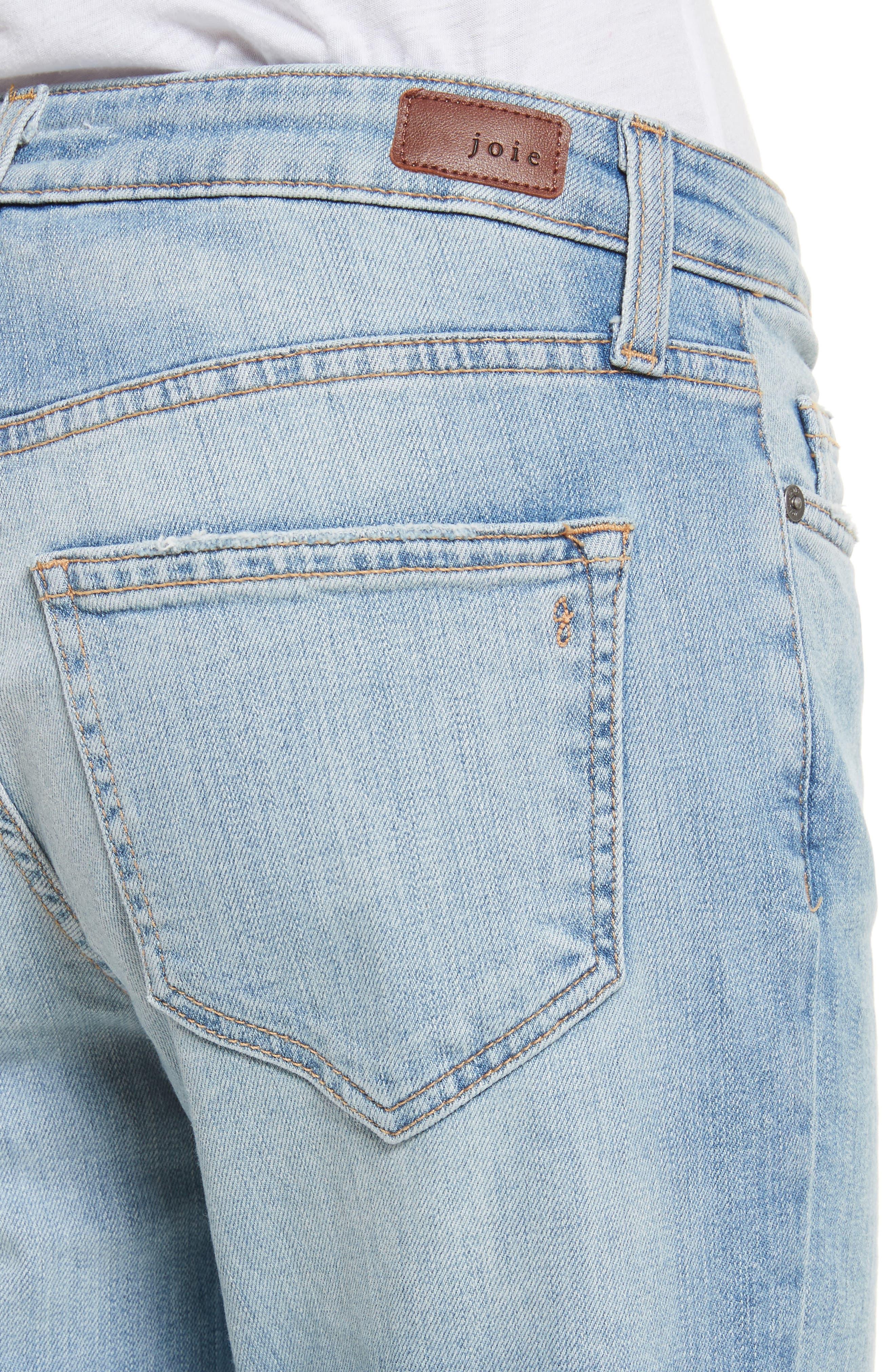 Josalind Straight Leg Crop Jeans,                             Alternate thumbnail 4, color,                             479