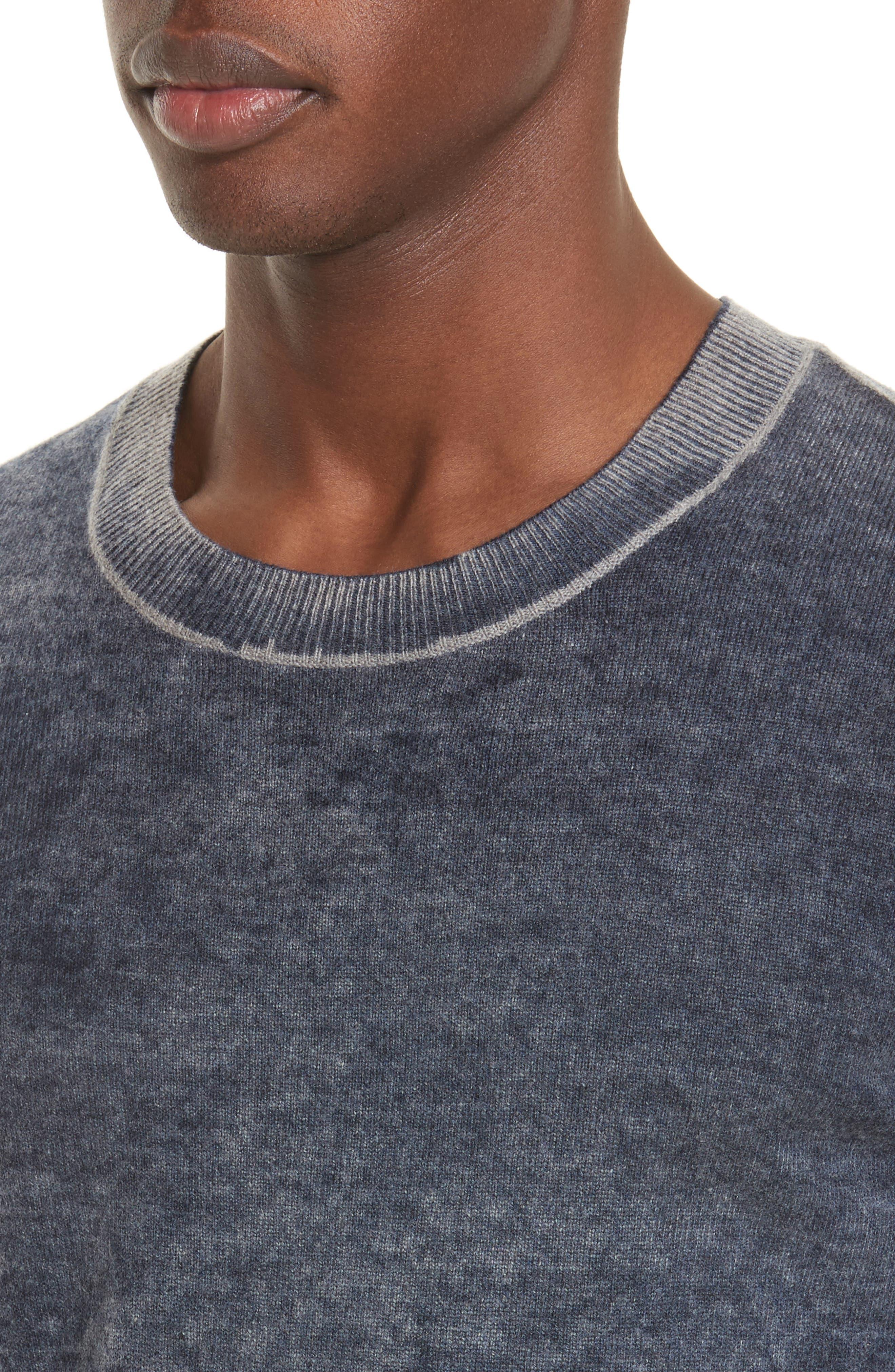 Acid Wash Sweater,                             Alternate thumbnail 4, color,                             410