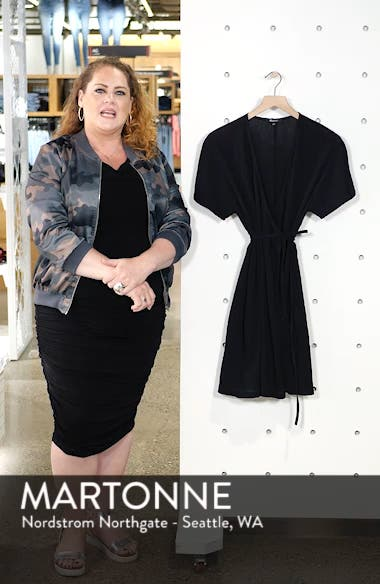 Gauze Wrap Dress, sales video thumbnail