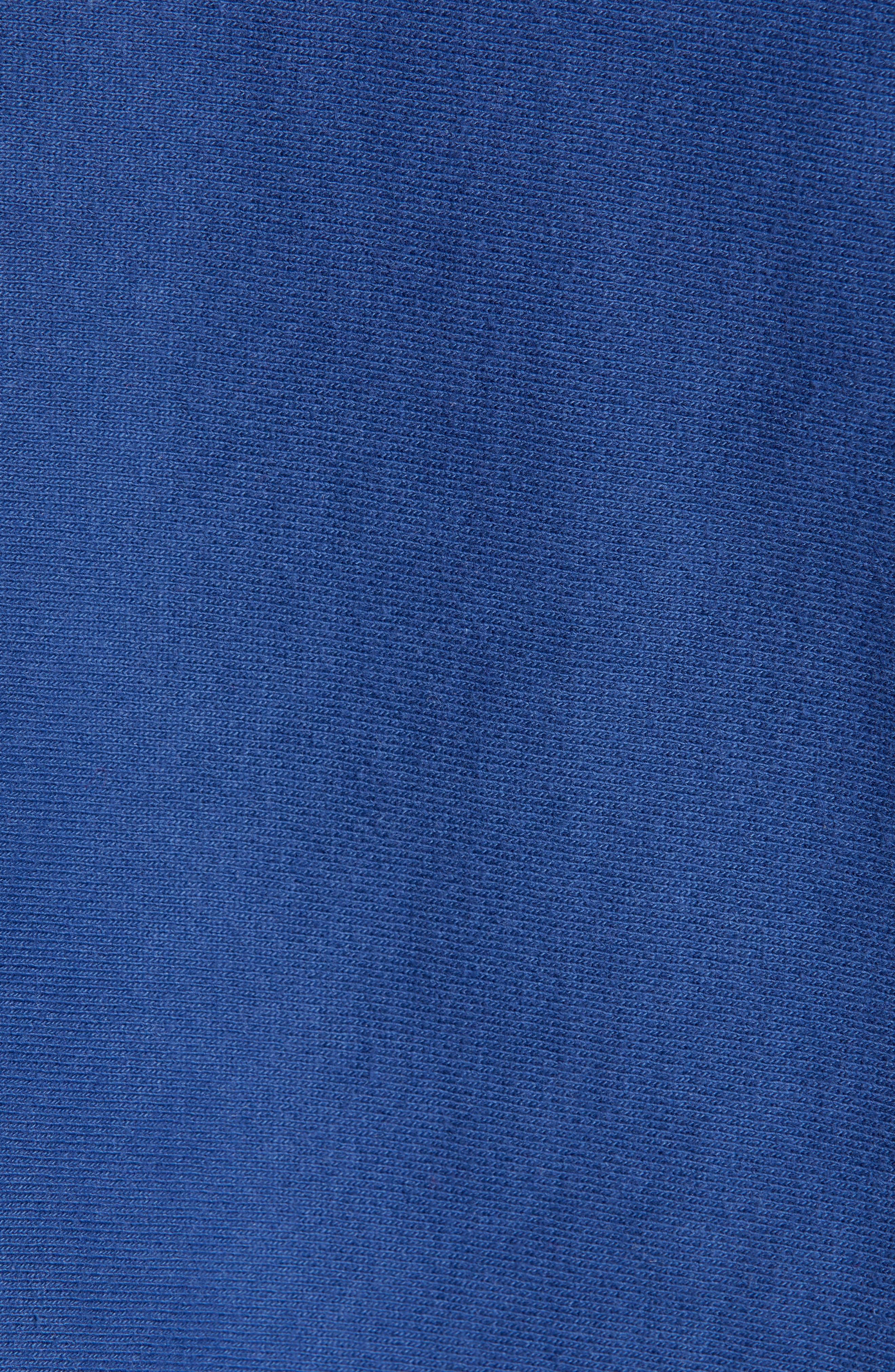 Reverse Weave<sup>®</sup> Snoopy Sweatshirt,                             Alternate thumbnail 5, color,                             DUTCH BLUE