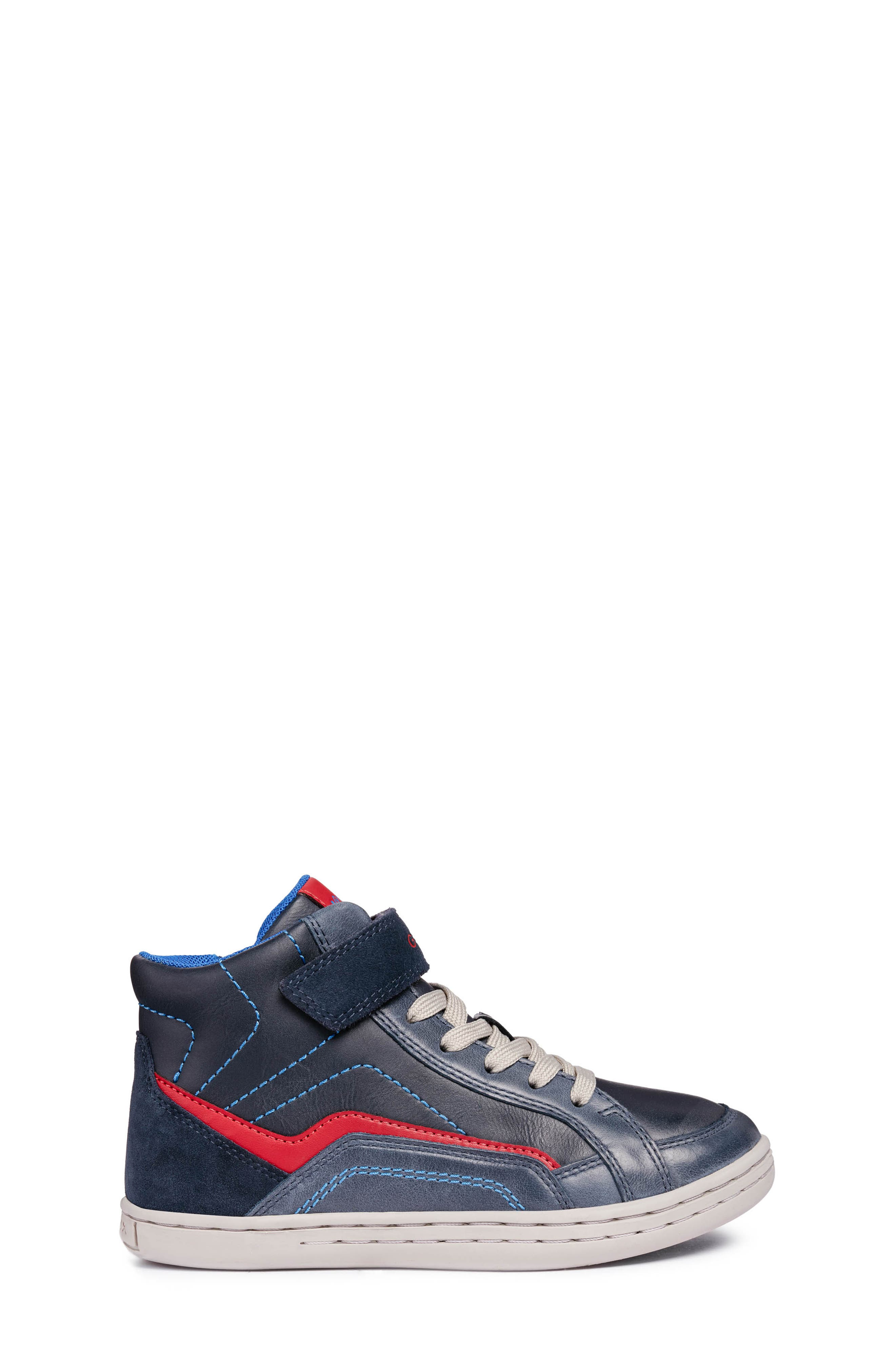 GEOX,                             Garcia Mid Sneaker,                             Alternate thumbnail 3, color,                             401