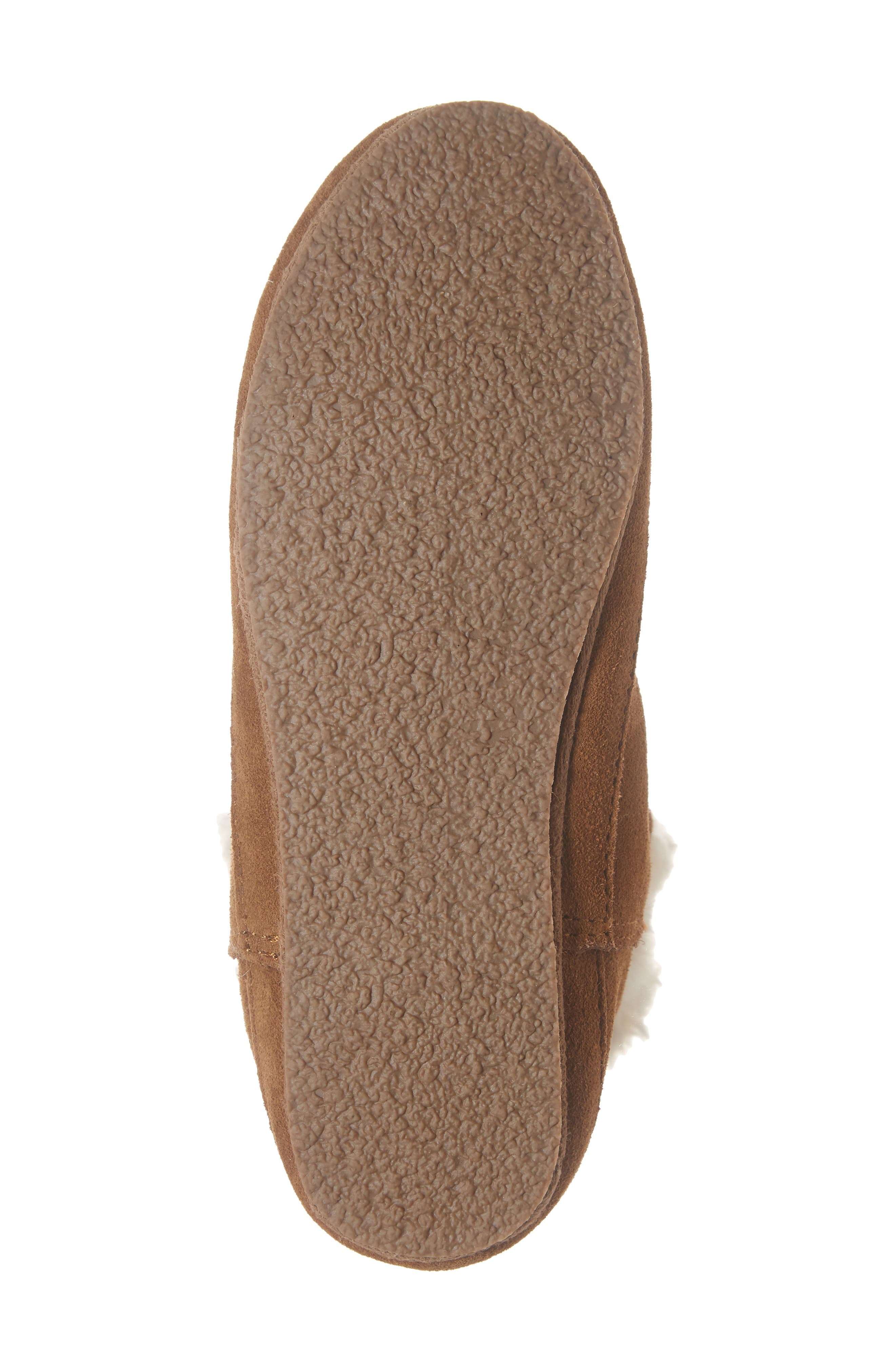 The Suede Slipper Bootie,                             Alternate thumbnail 6, color,                             200