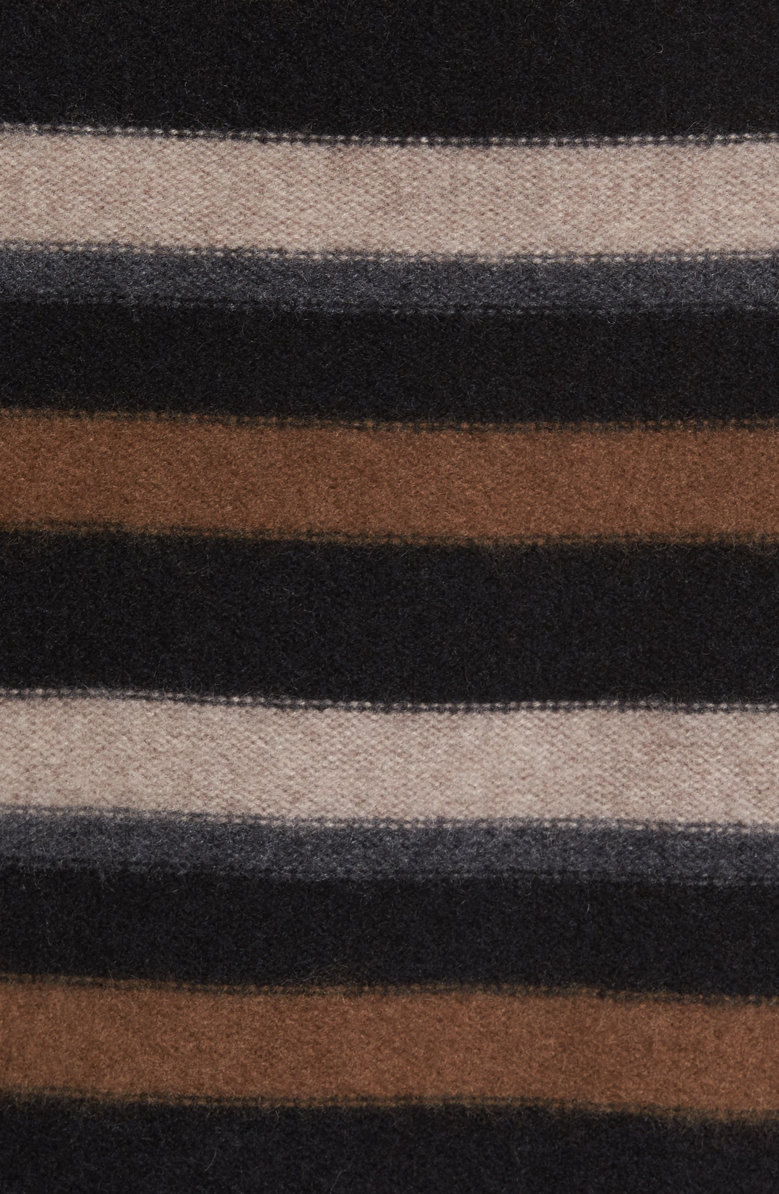 Stripe Cashmere Sweater,                             Alternate thumbnail 5, color,                             003