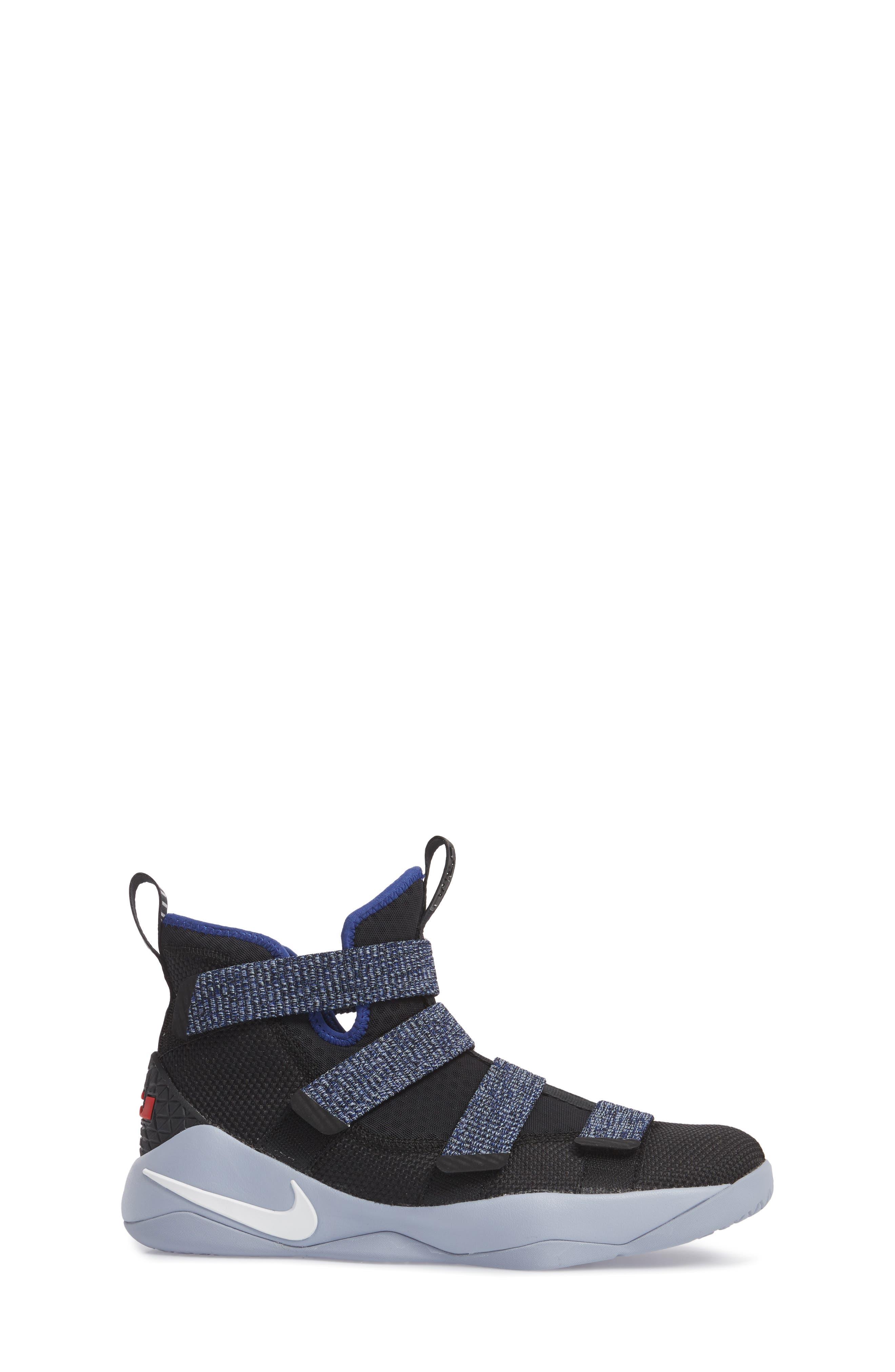 LeBron Soldier XI Basketball Shoe,                             Alternate thumbnail 3, color,                             005