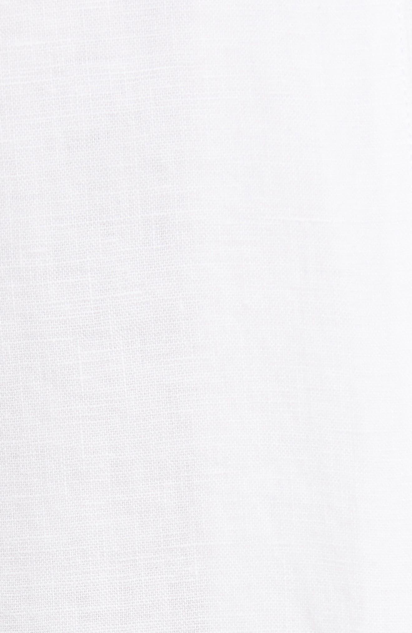 Organic Linen Crop Pants,                             Alternate thumbnail 19, color,