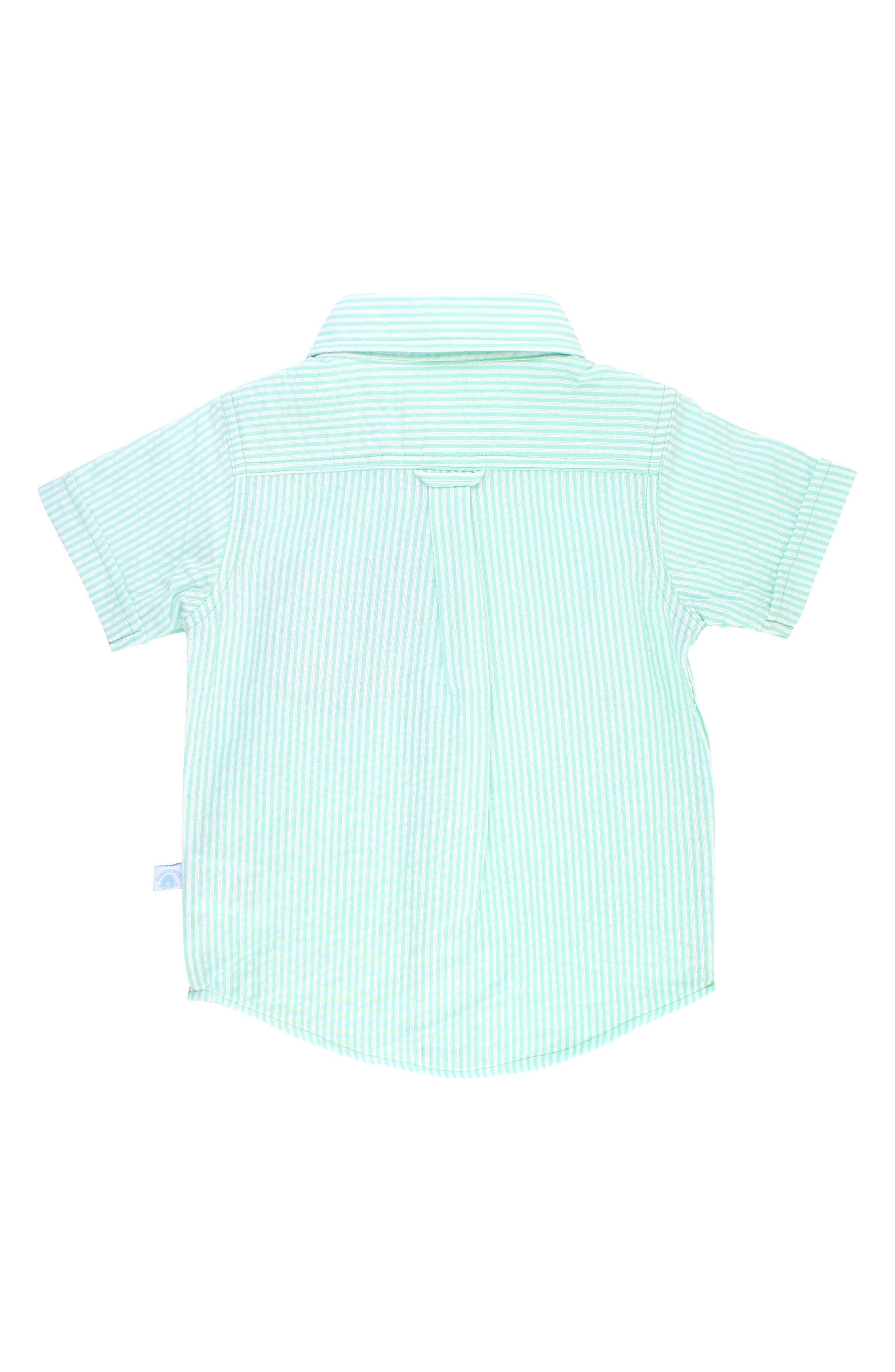 Seersucker Stripe Woven Shirt,                             Alternate thumbnail 2, color,                             300