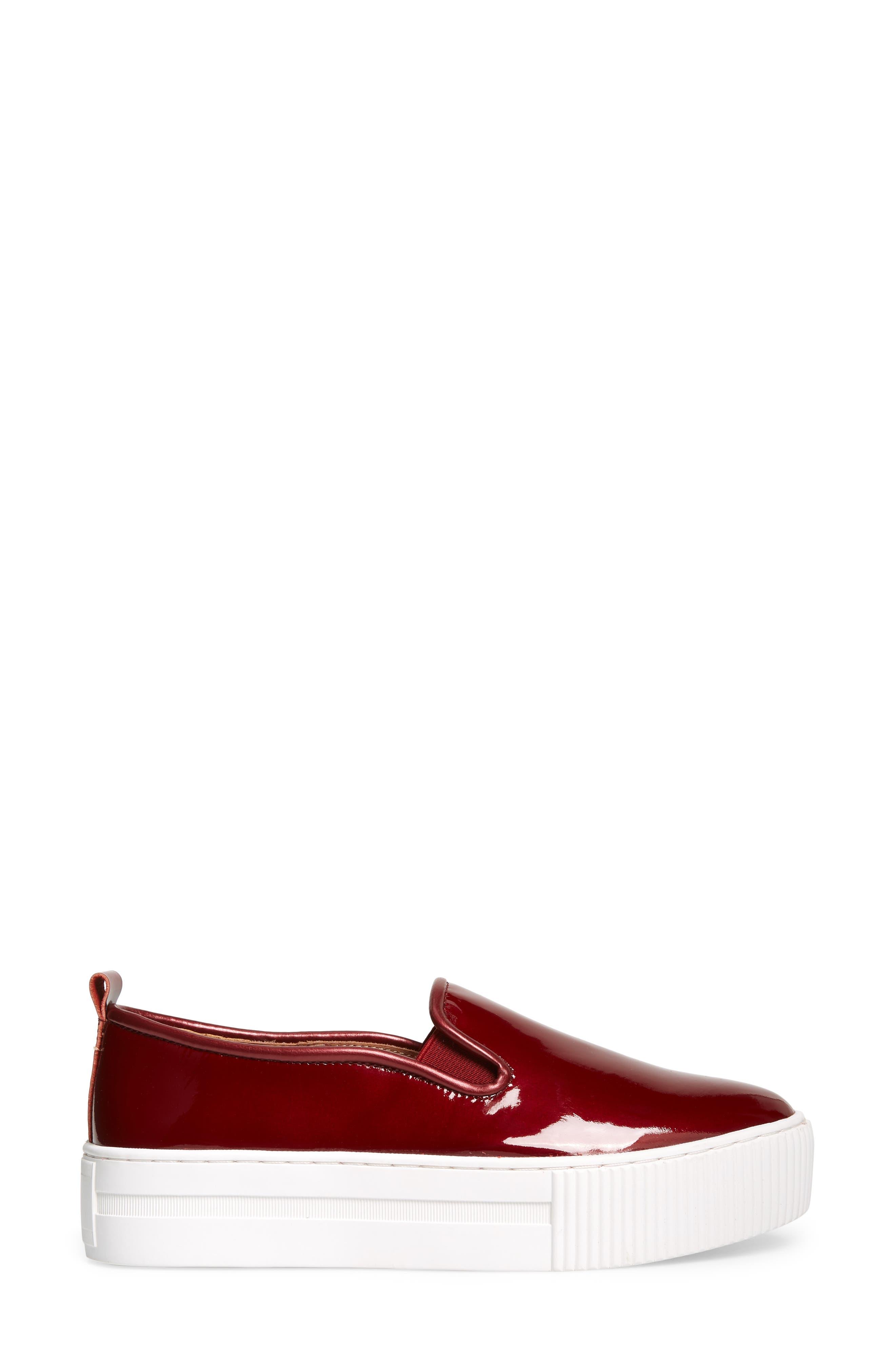 Baylee Platform Slip-On Sneaker,                             Alternate thumbnail 3, color,                             930