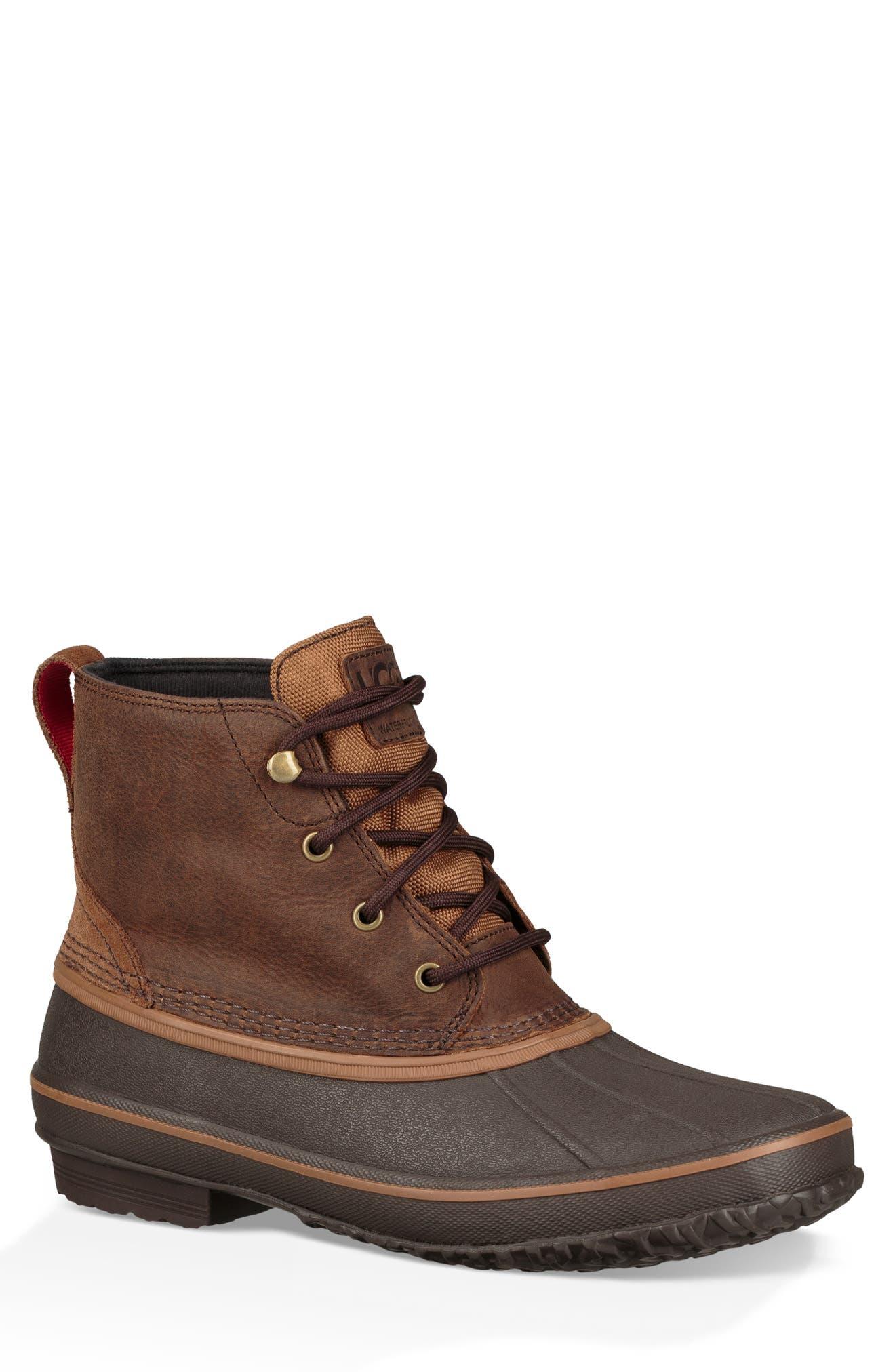 Ugg Zetik Waterproof Rain Boot, Brown
