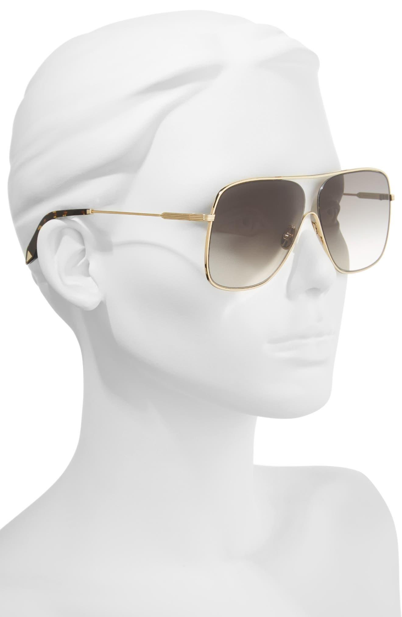 Loop 61mm Navigator Sunglasses,                             Alternate thumbnail 2, color,                             GALAXY