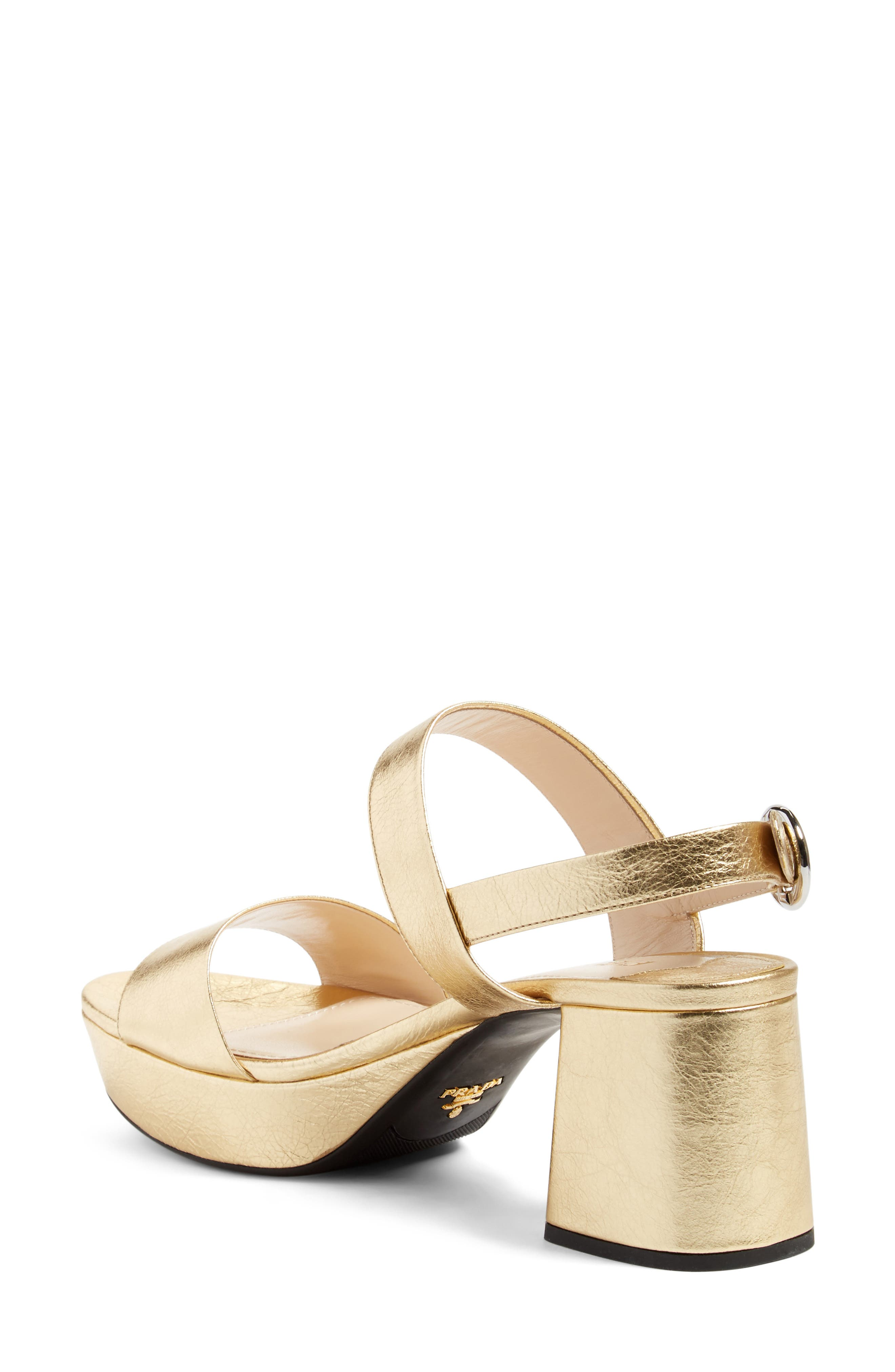 Slingback Platform Sandal,                             Alternate thumbnail 9, color,