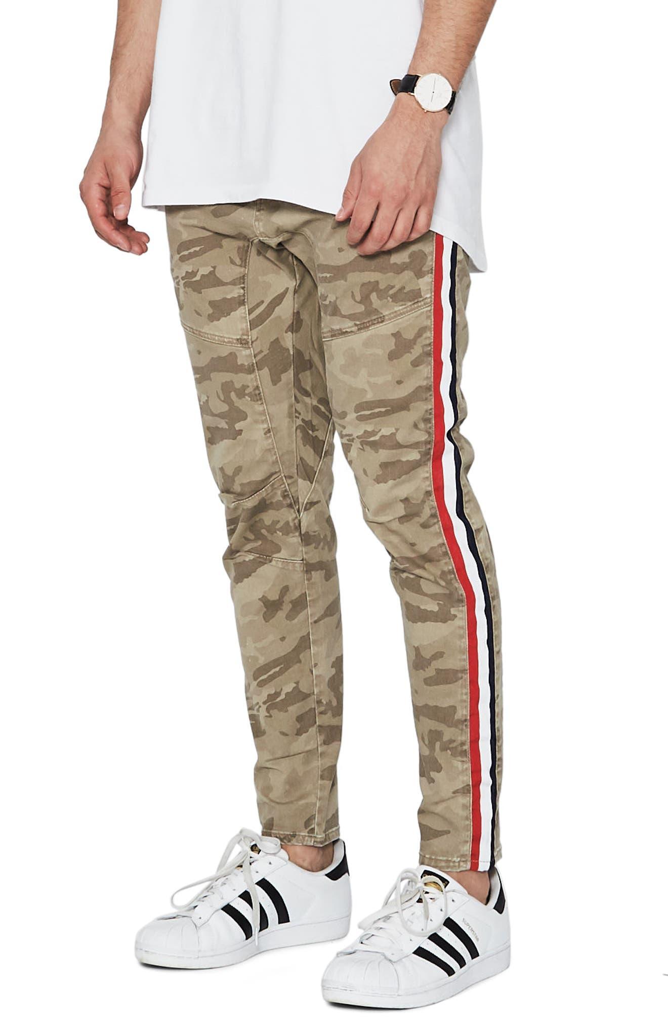 Sergeant Slim Fit Pants,                             Alternate thumbnail 3, color,                             SANDSTROM CAMO
