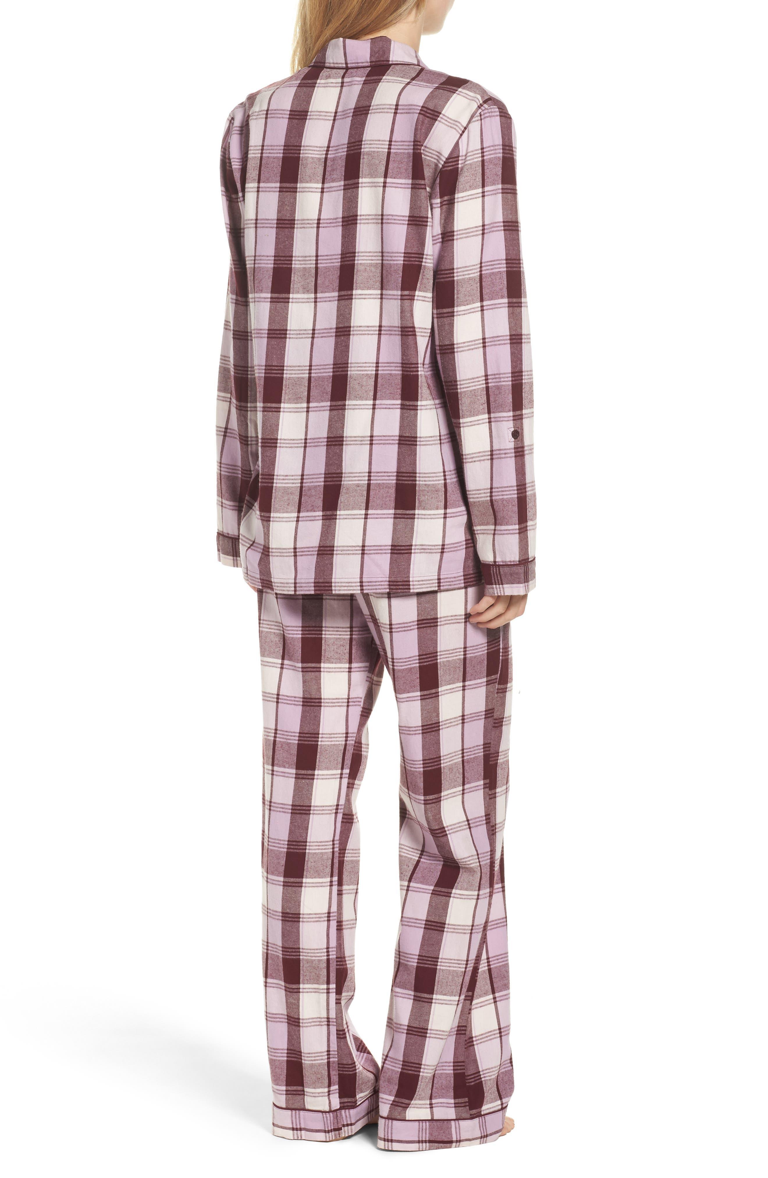 Cotton Twill Pajamas,                             Alternate thumbnail 12, color,