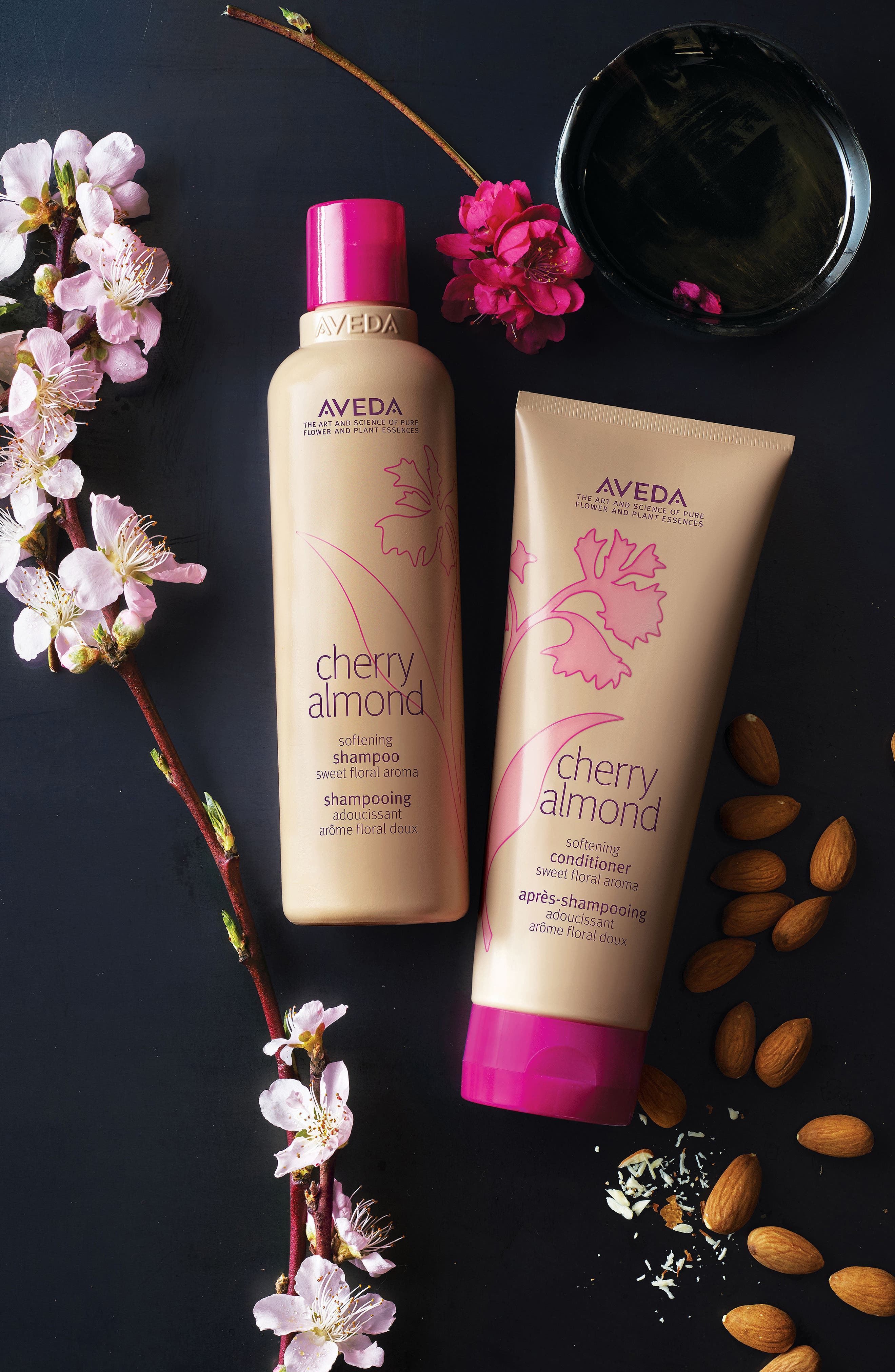 Cherry Almond Softening Shampoo,                             Alternate thumbnail 3, color,                             NO COLOR