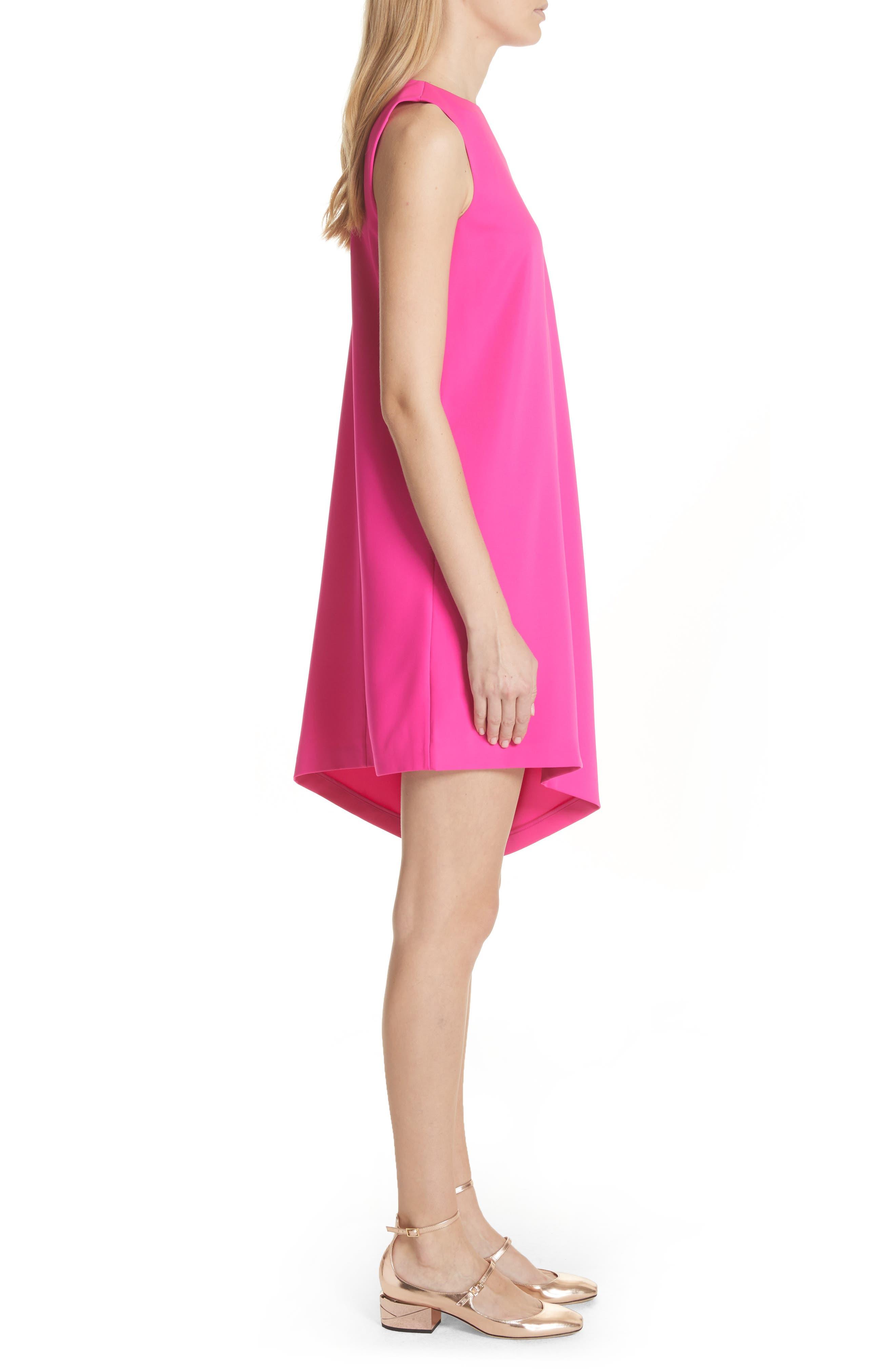 Oversize Drape Front Dress,                             Alternate thumbnail 6, color,