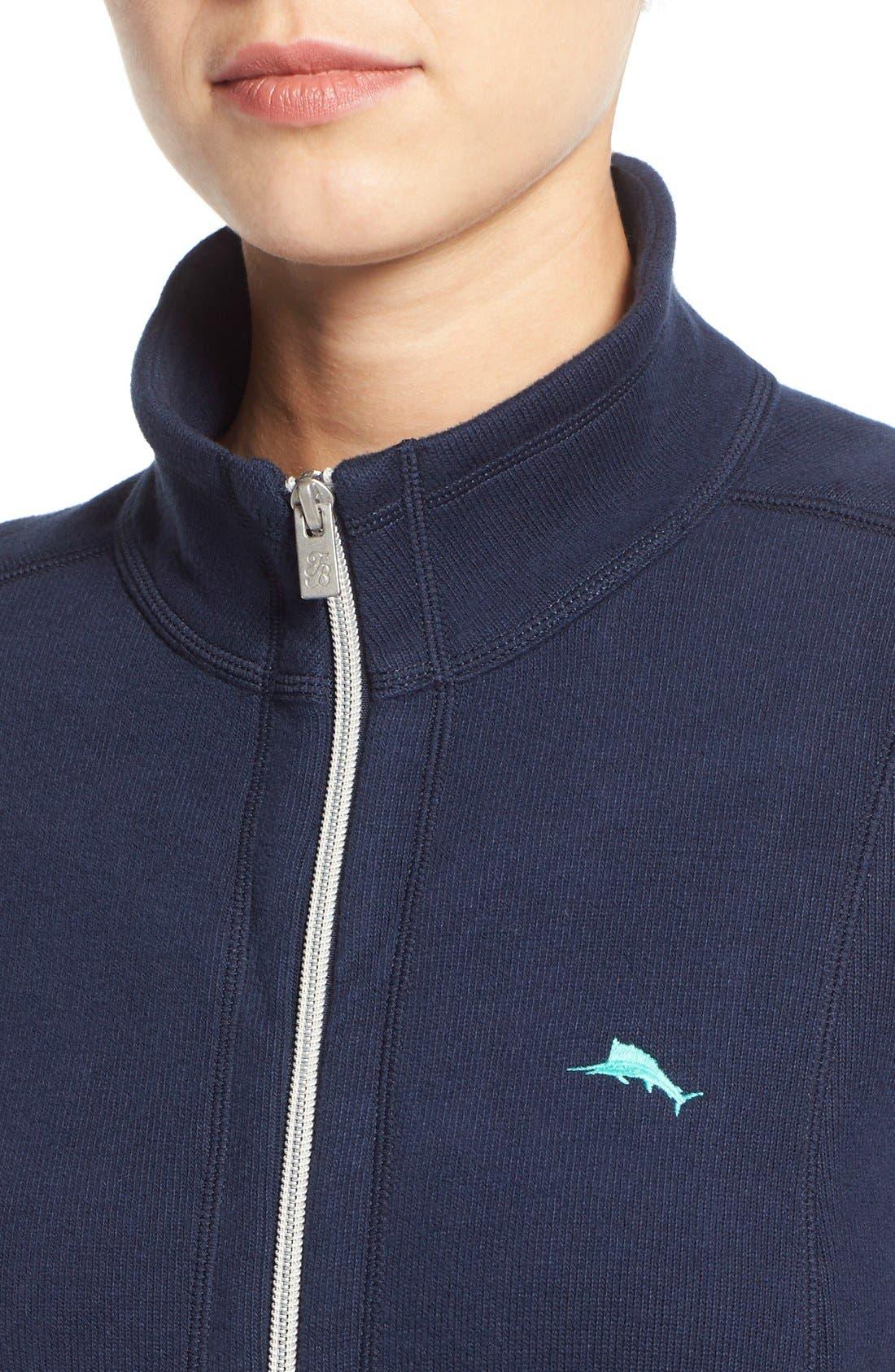 'Aruba' Full Zip Sweatshirt,                             Alternate thumbnail 20, color,