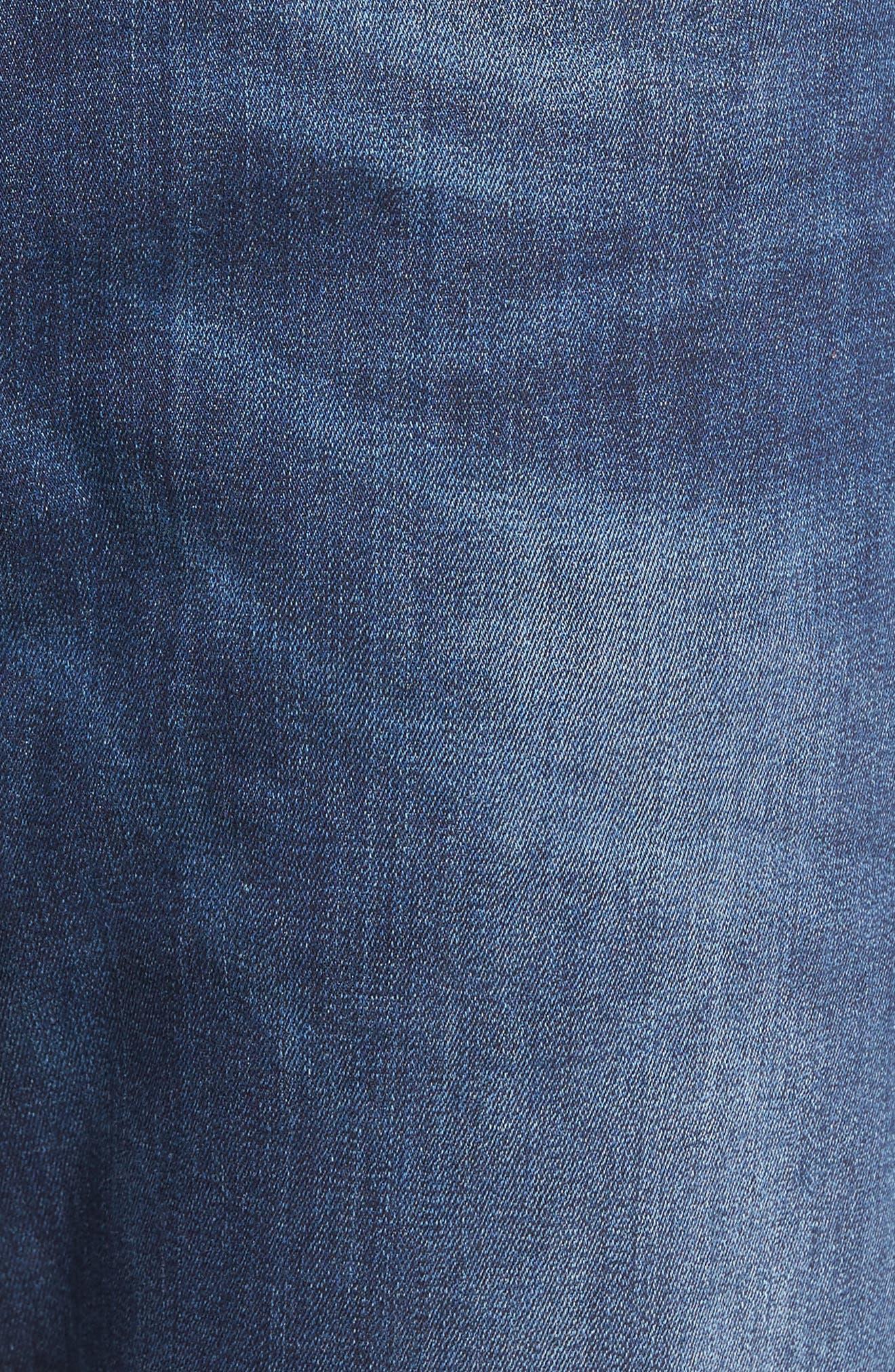 Waykee Straight Leg Jeans,                             Alternate thumbnail 5, color,                             400