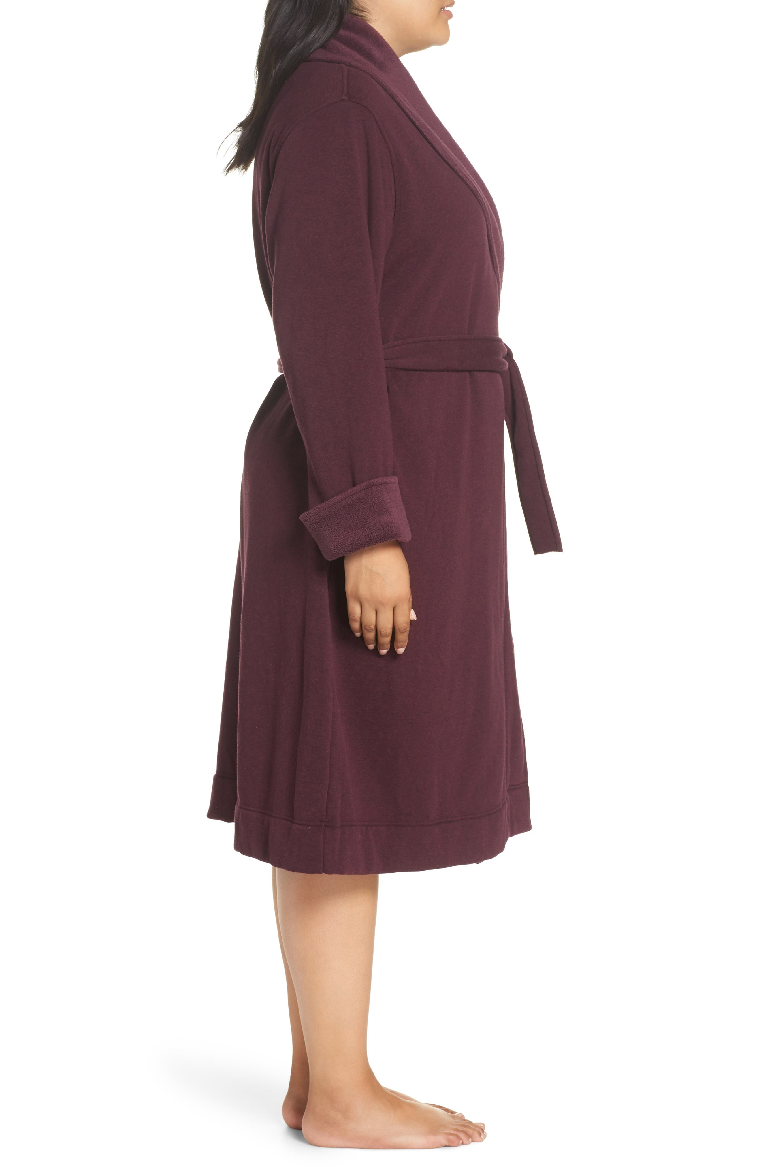 Duffield II Robe,                             Alternate thumbnail 3, color,                             PORT HEATHER