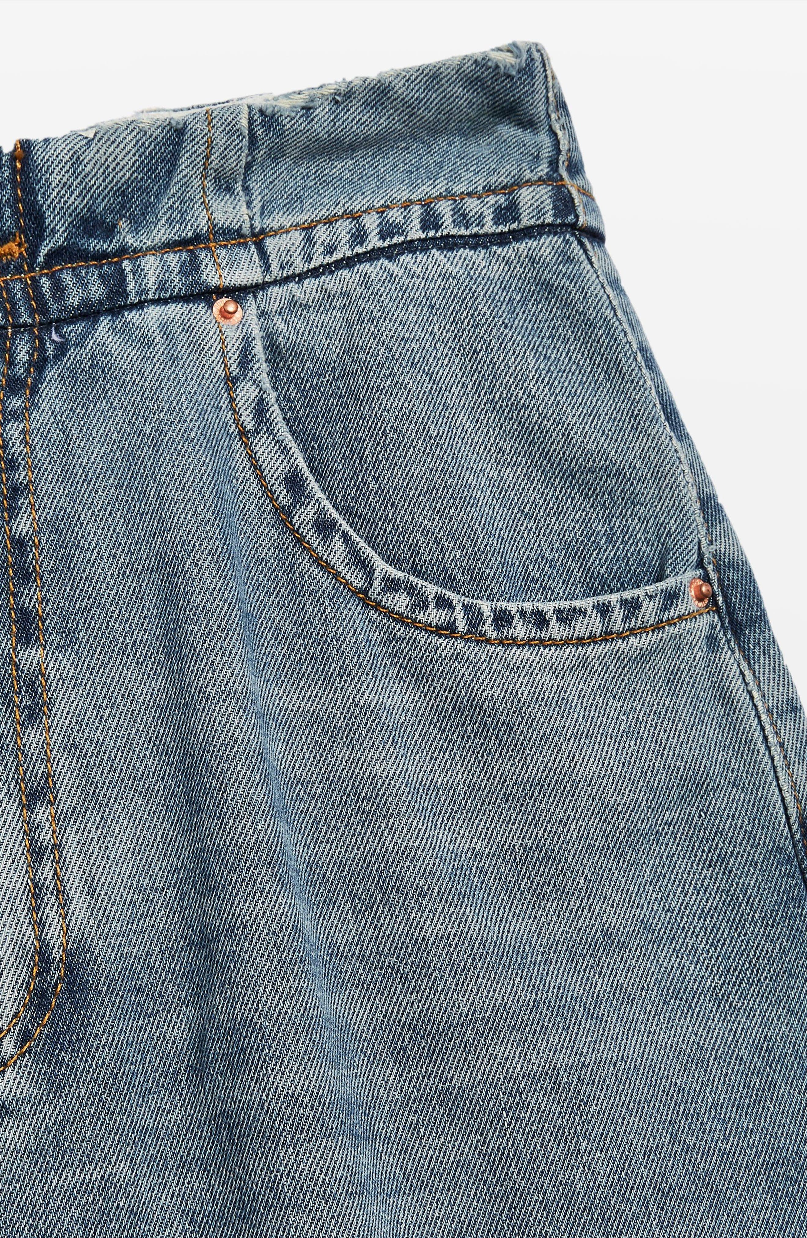 Slouch Cinch Jeans,                             Alternate thumbnail 4, color,                             420