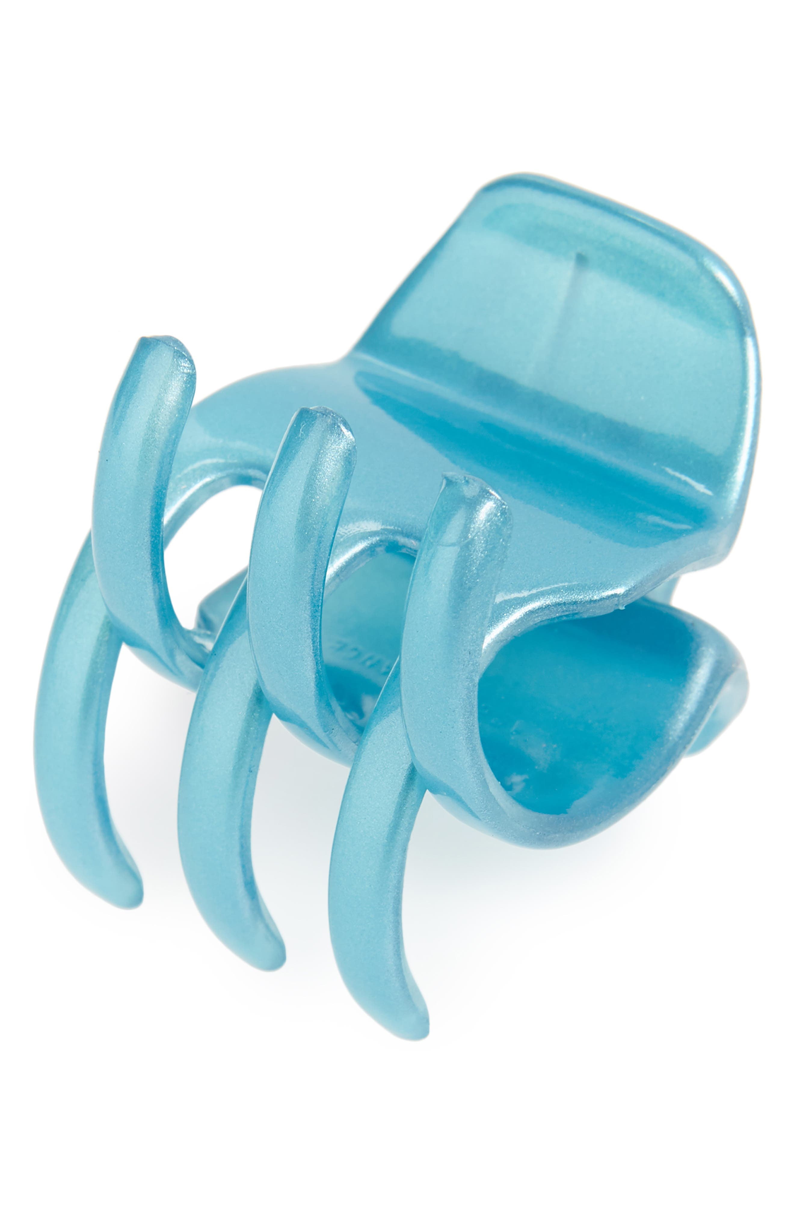 FRANCE LUXE Sadie Small Jaw Clip in Aqua