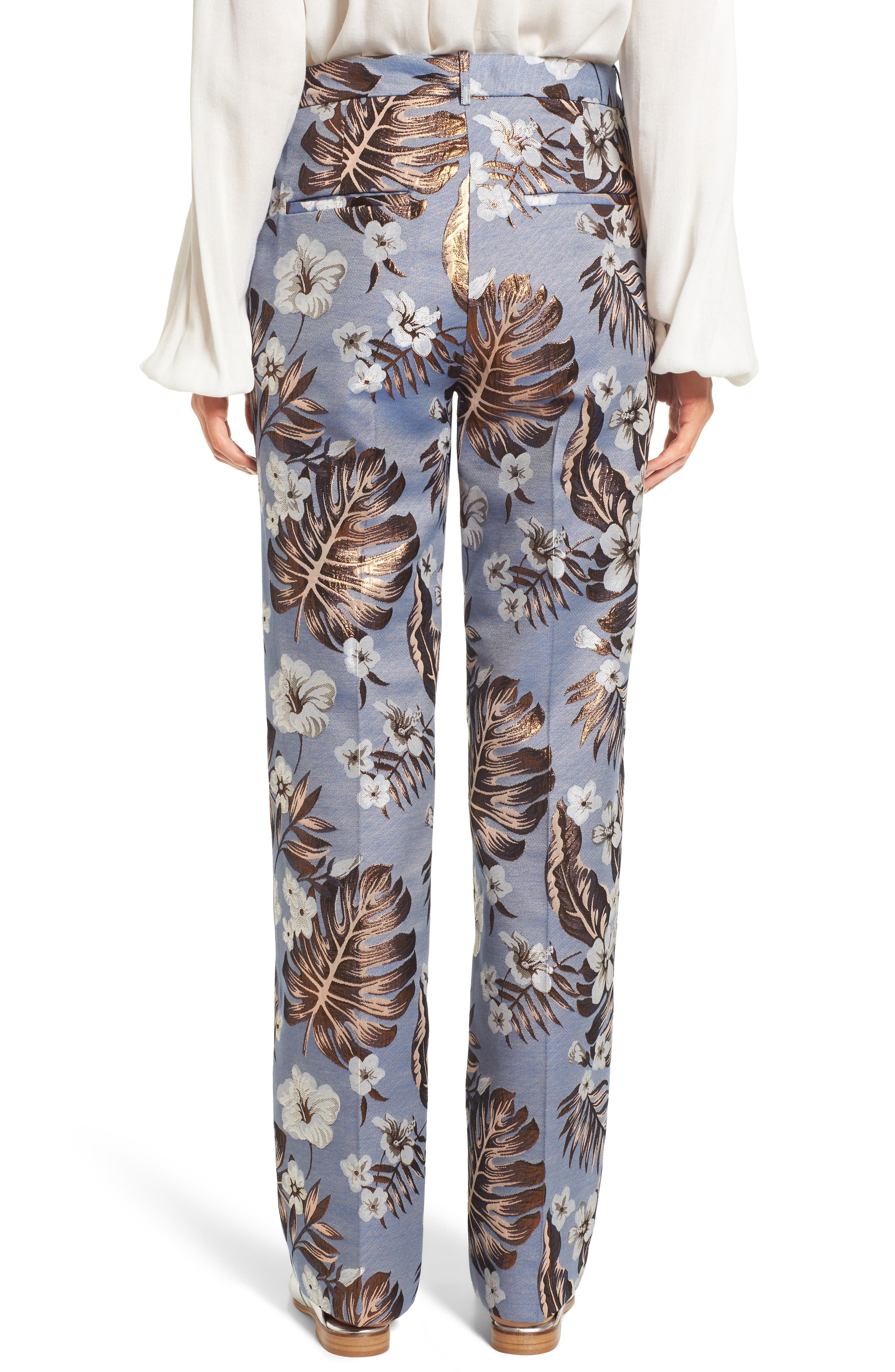 Picasso High Waist Pants,                             Alternate thumbnail 2, color,                             400
