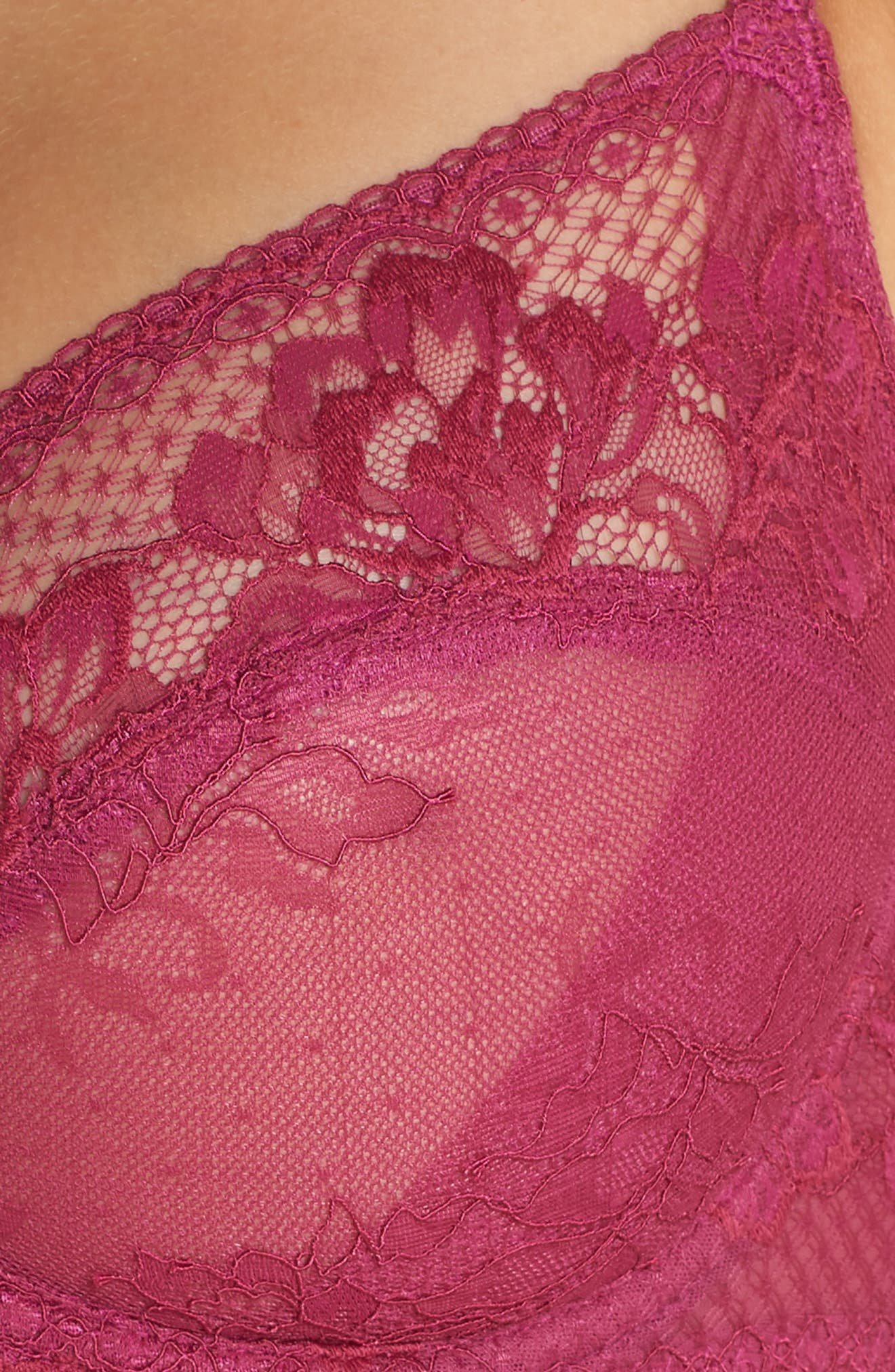 Lace to Love Underwire Bra,                             Alternate thumbnail 6, color,                             BOYSENBERRY