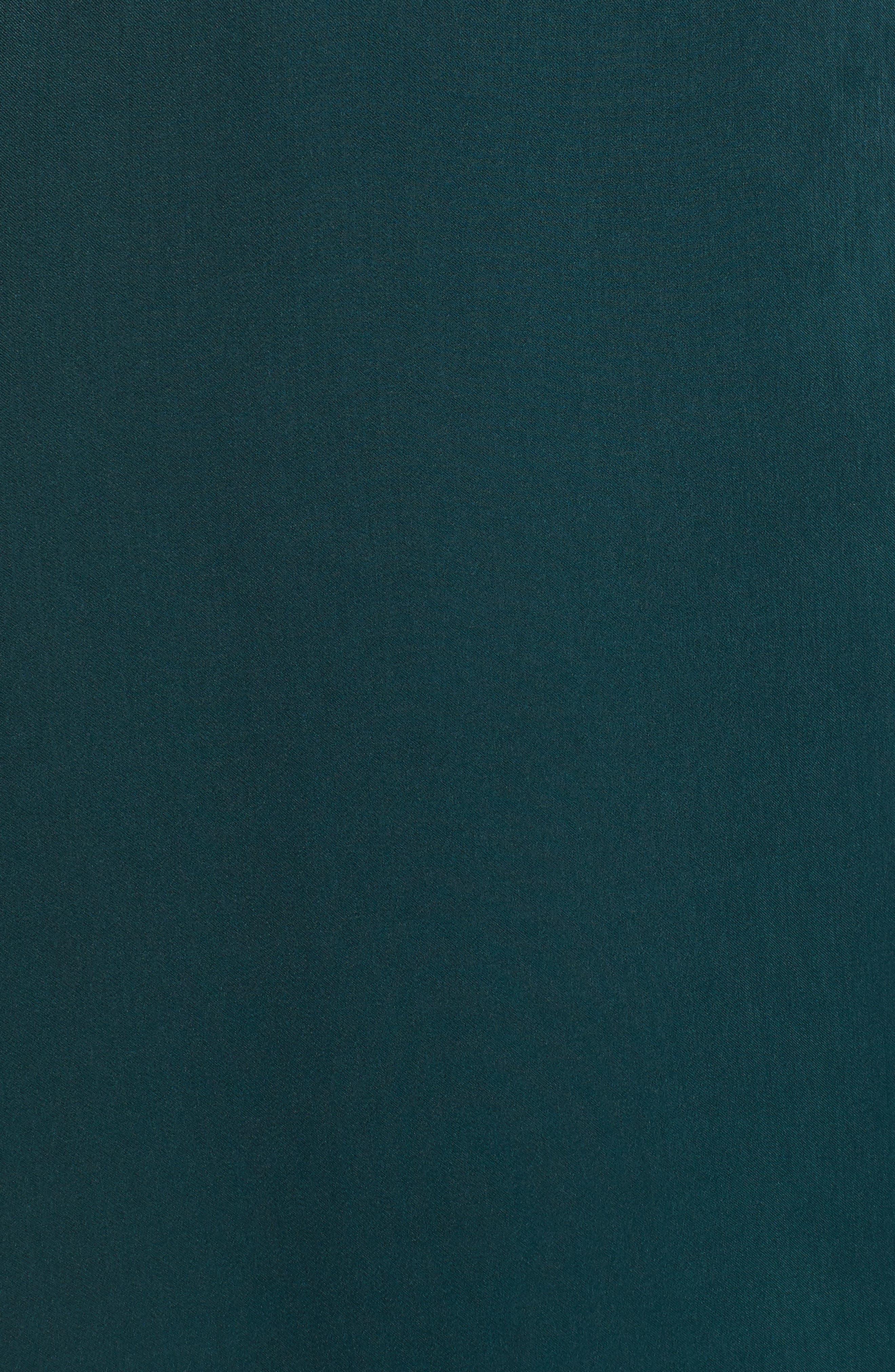 Mariah Satin Wrap Evening Dress,                             Alternate thumbnail 5, color,                             301