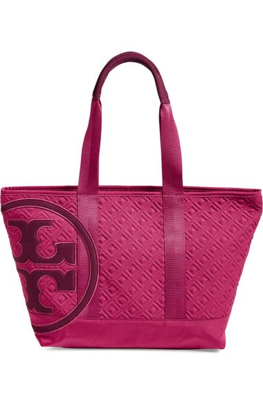 75f5ce796a0e Tory Burch  Small Penn  Quilted Zip Tote