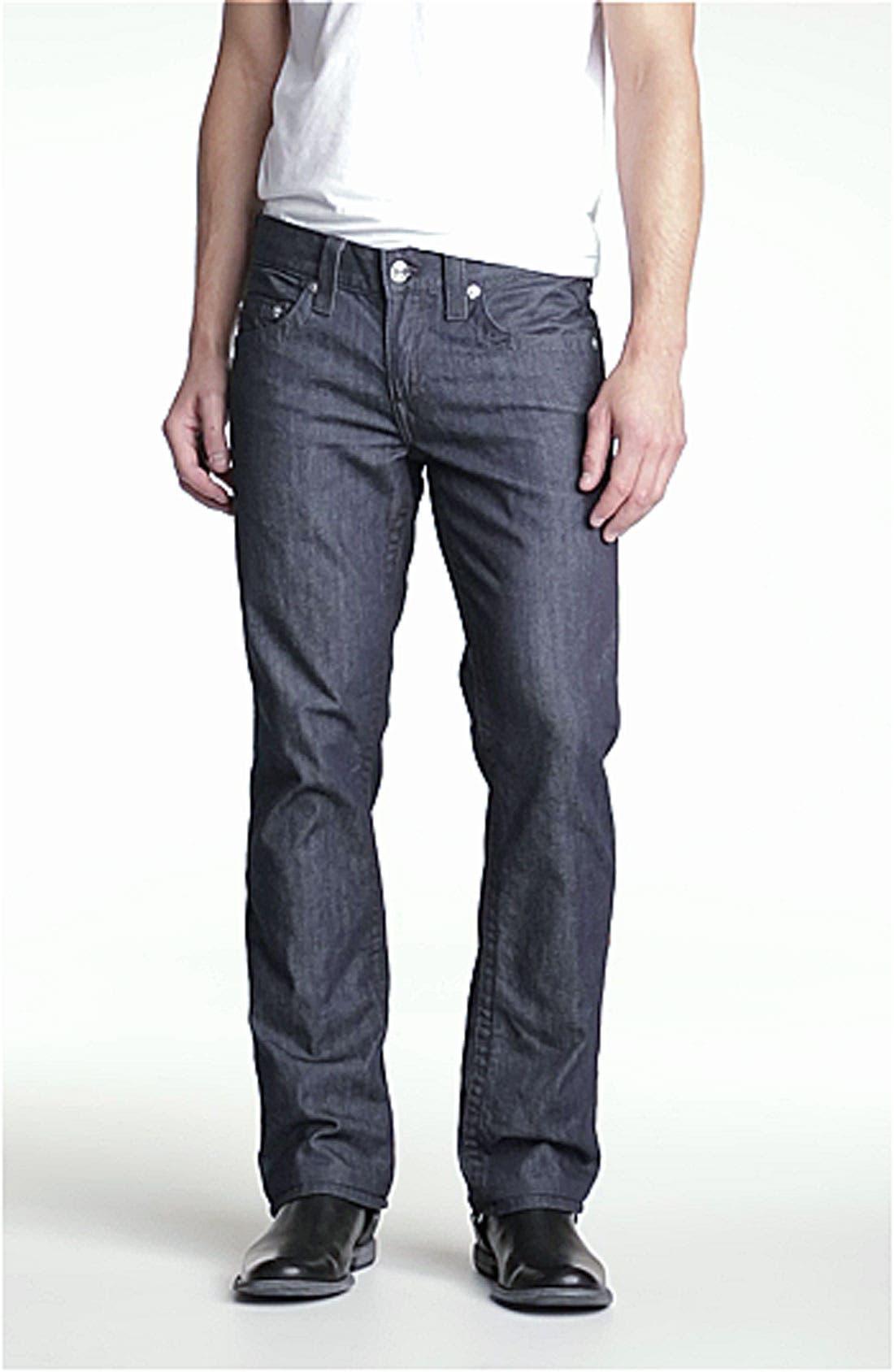 'Bobby' Straight Leg Jeans,                             Alternate thumbnail 2, color,                             400