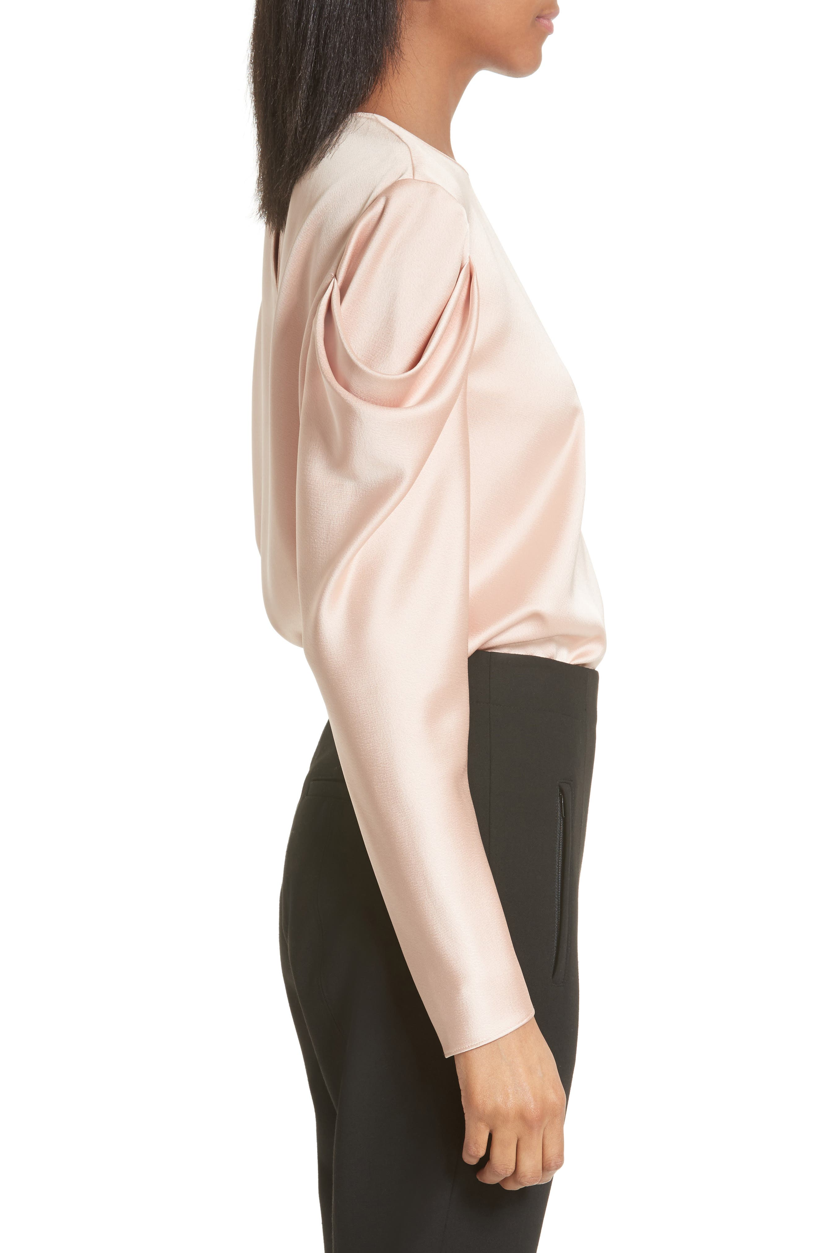 Celestia Drape Sleeve Top,                             Alternate thumbnail 3, color,                             683