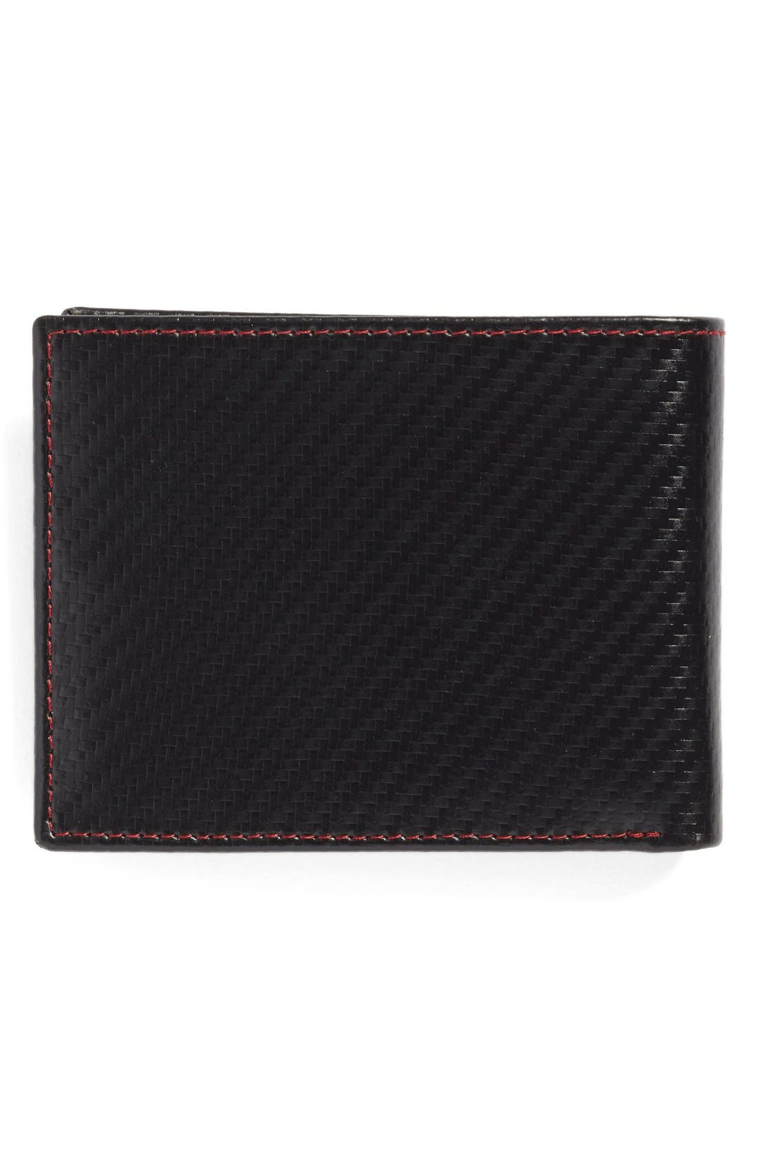 Flip Billfold Wallet,                             Alternate thumbnail 3, color,                             001
