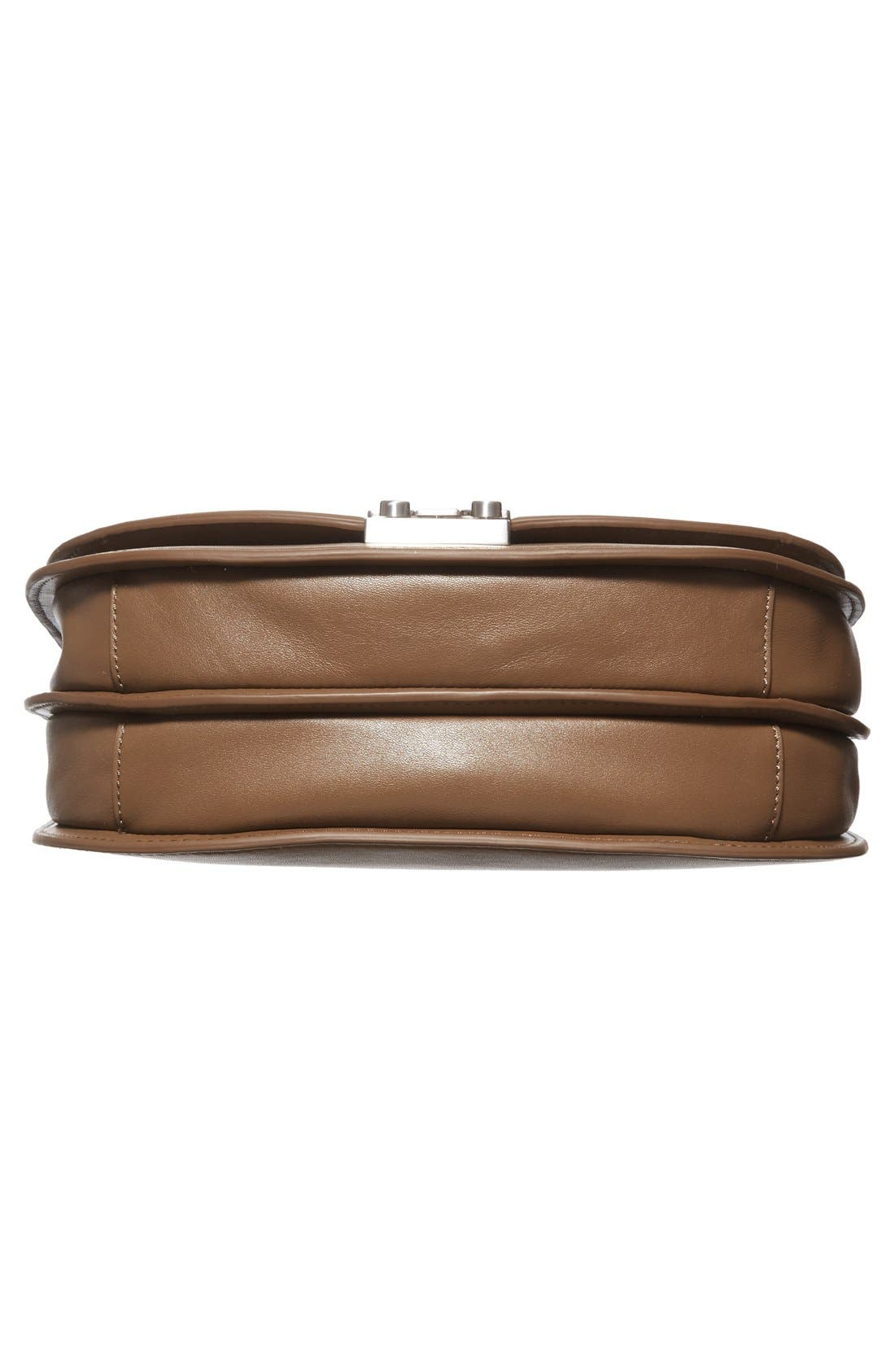 'Large' Leather Saddle Bag,                             Alternate thumbnail 6, color,                             300