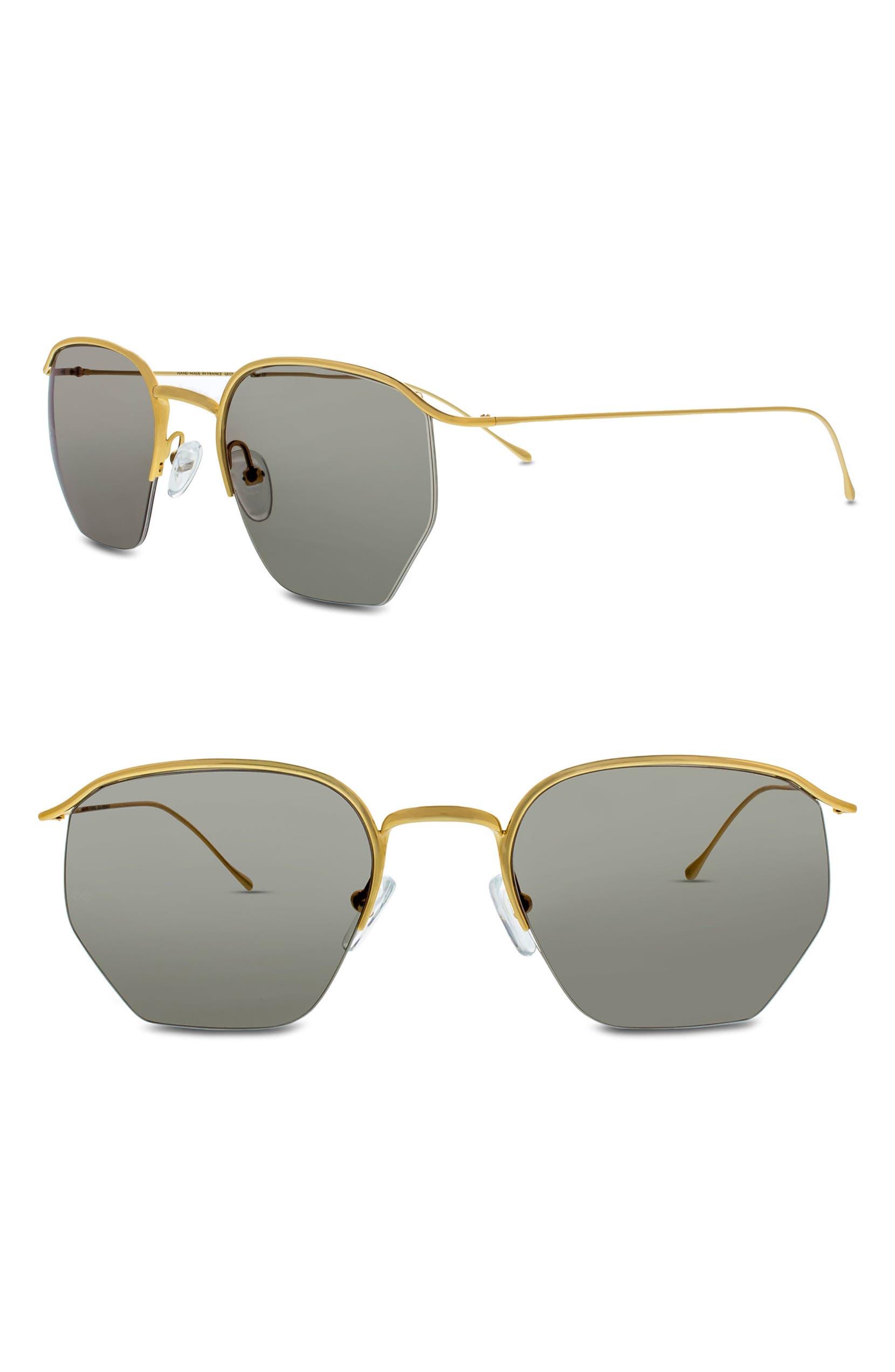 a3b69851d09 SMOKE X MIRRORS Geo I 51mm Semi Rimless Sunglasses