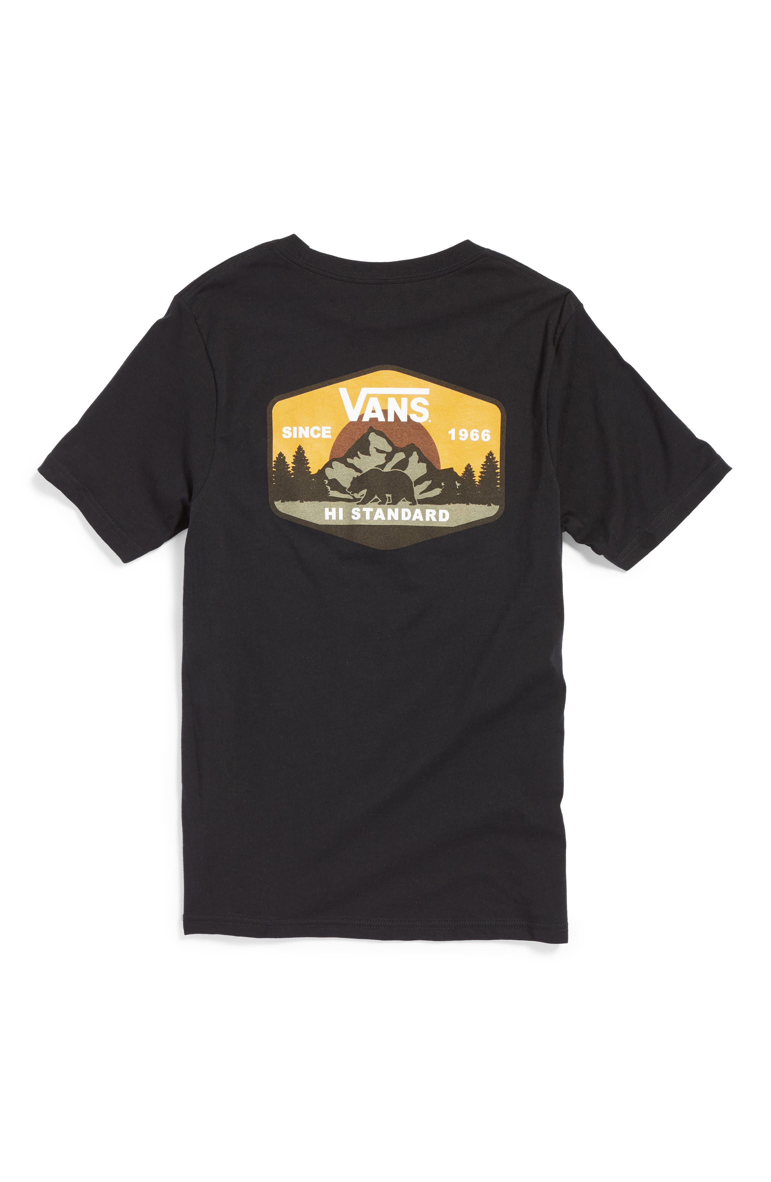 Mountain Hi-Standard T-Shirt,                             Alternate thumbnail 2, color,                             001