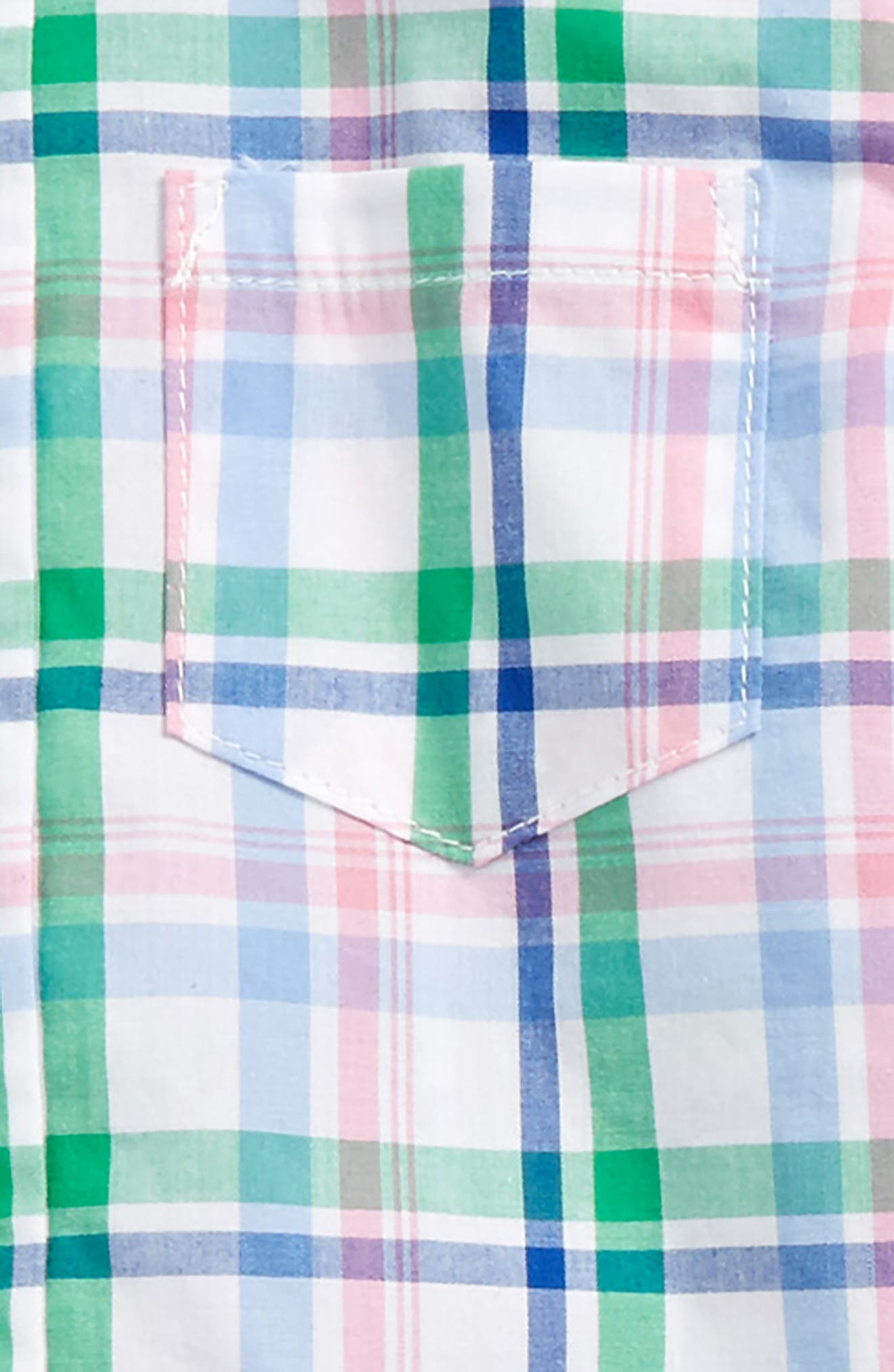 Plaid Shirt, Pants & Bow Tie Set,                             Alternate thumbnail 2, color,                             457