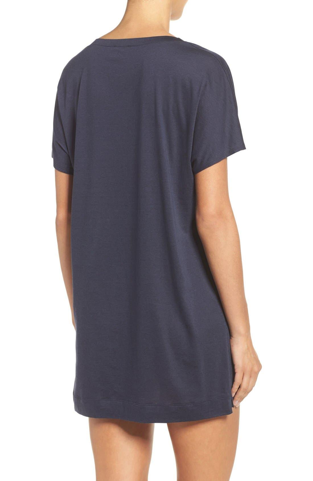 Laura Jersey Sleep Shirt,                             Alternate thumbnail 12, color,