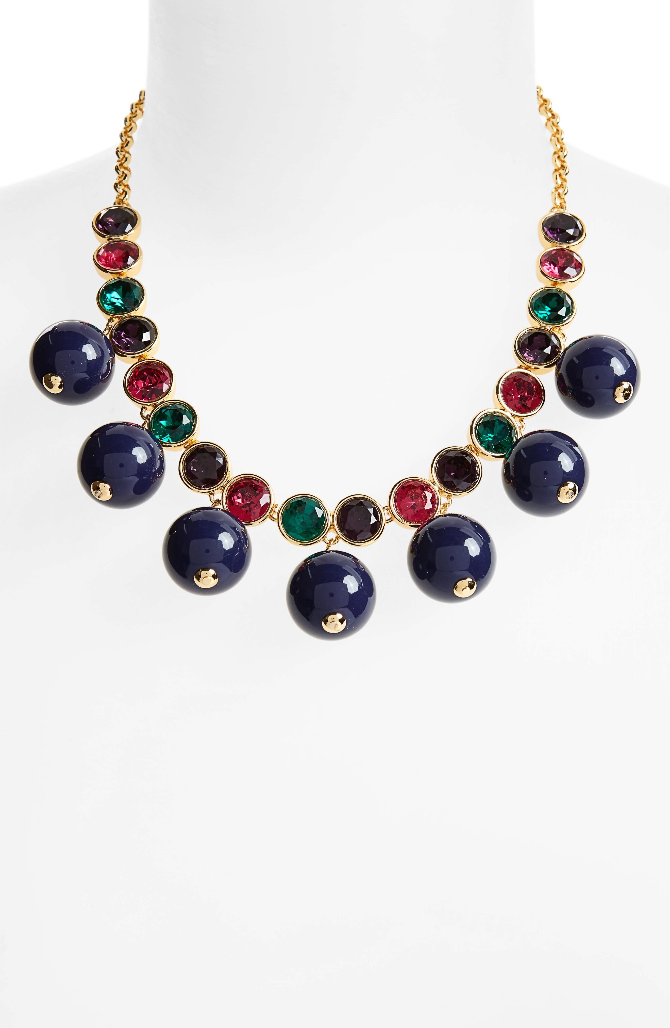 true colors bauble necklace,                             Alternate thumbnail 6, color,