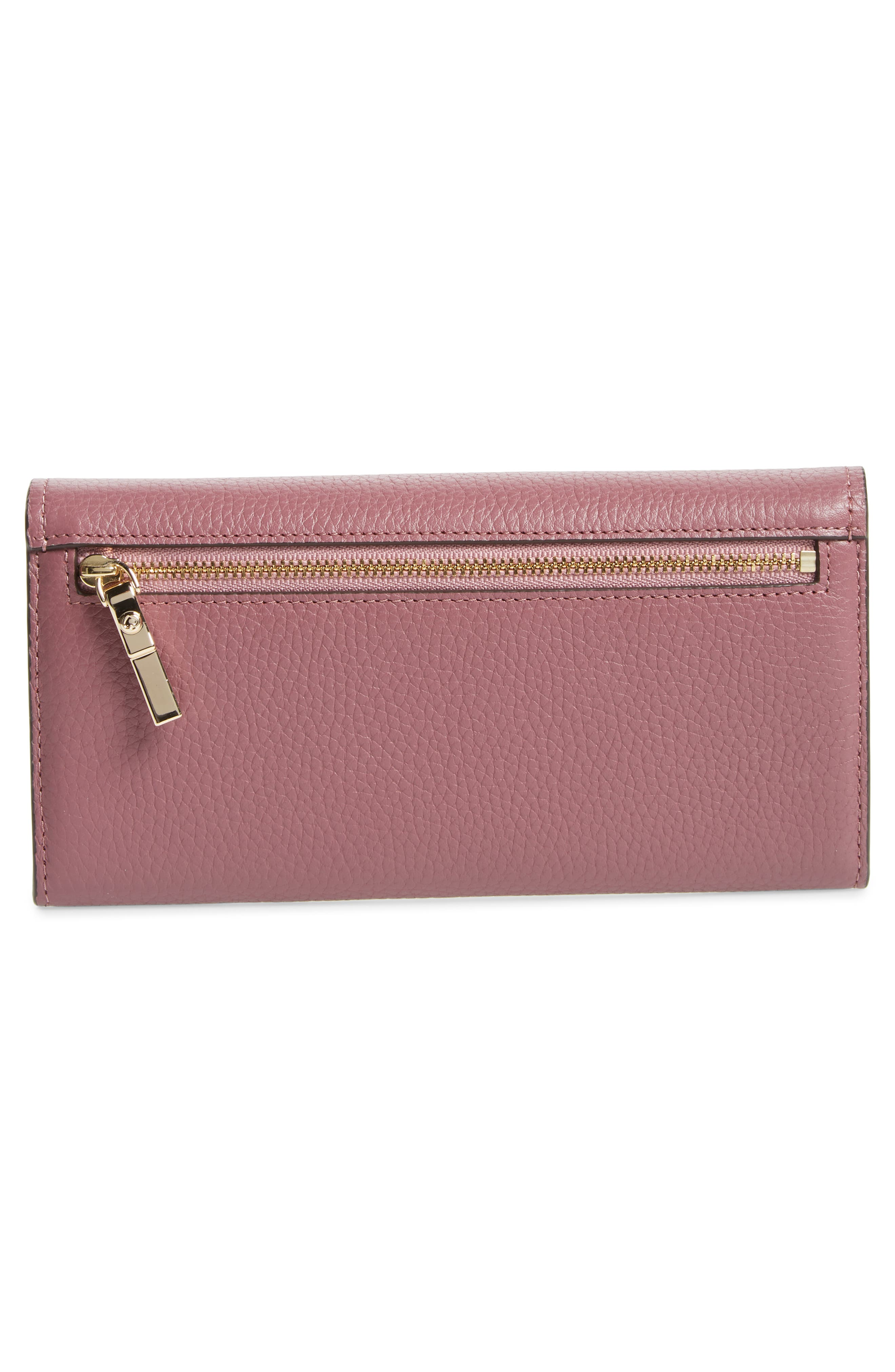 oakwood street – kinsley pebbled leather wallet,                             Alternate thumbnail 3, color,                             564