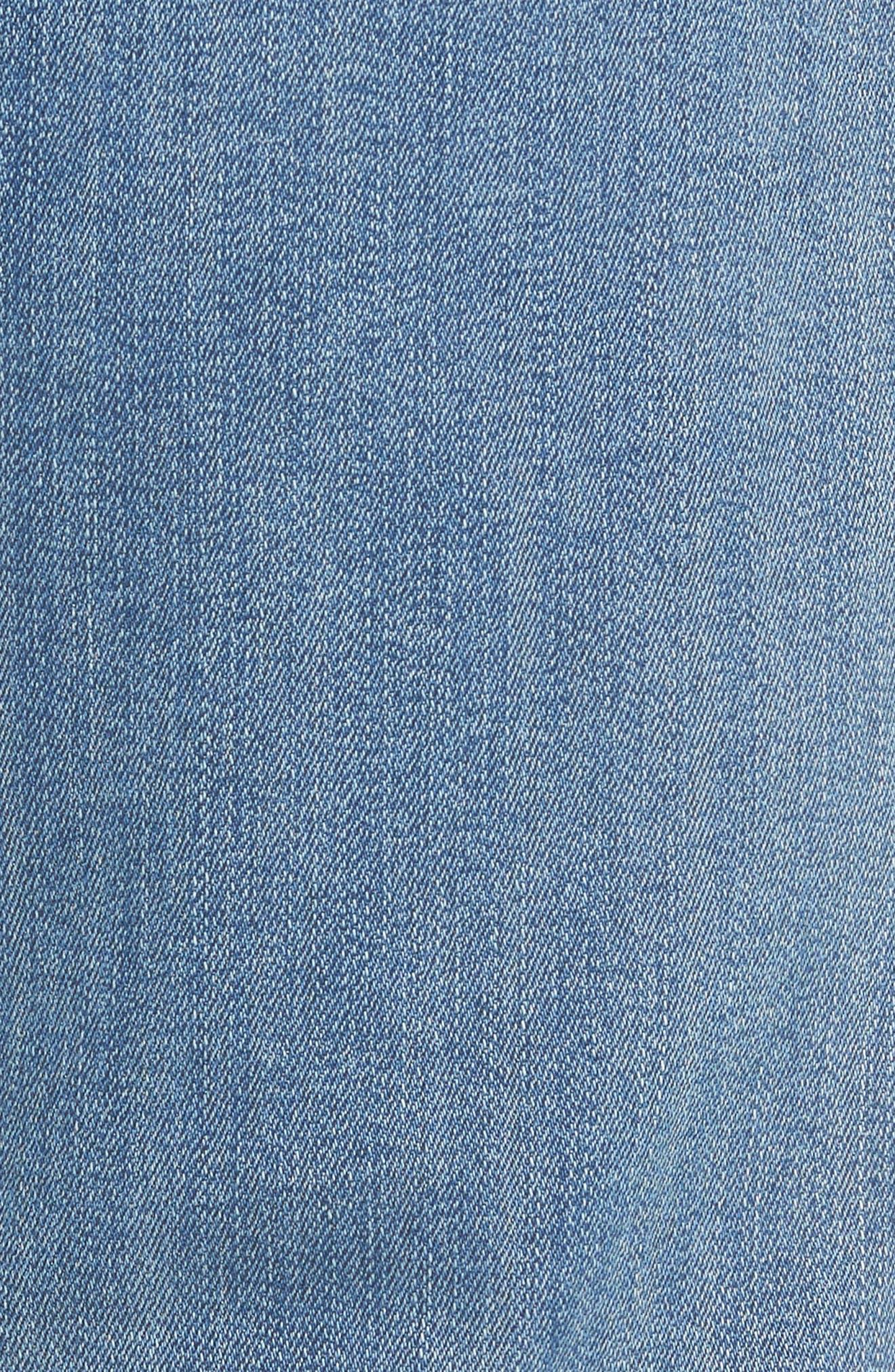 Transcend - Lennox Slim Fit Jeans,                             Alternate thumbnail 5, color,                             CARTWRIGHT