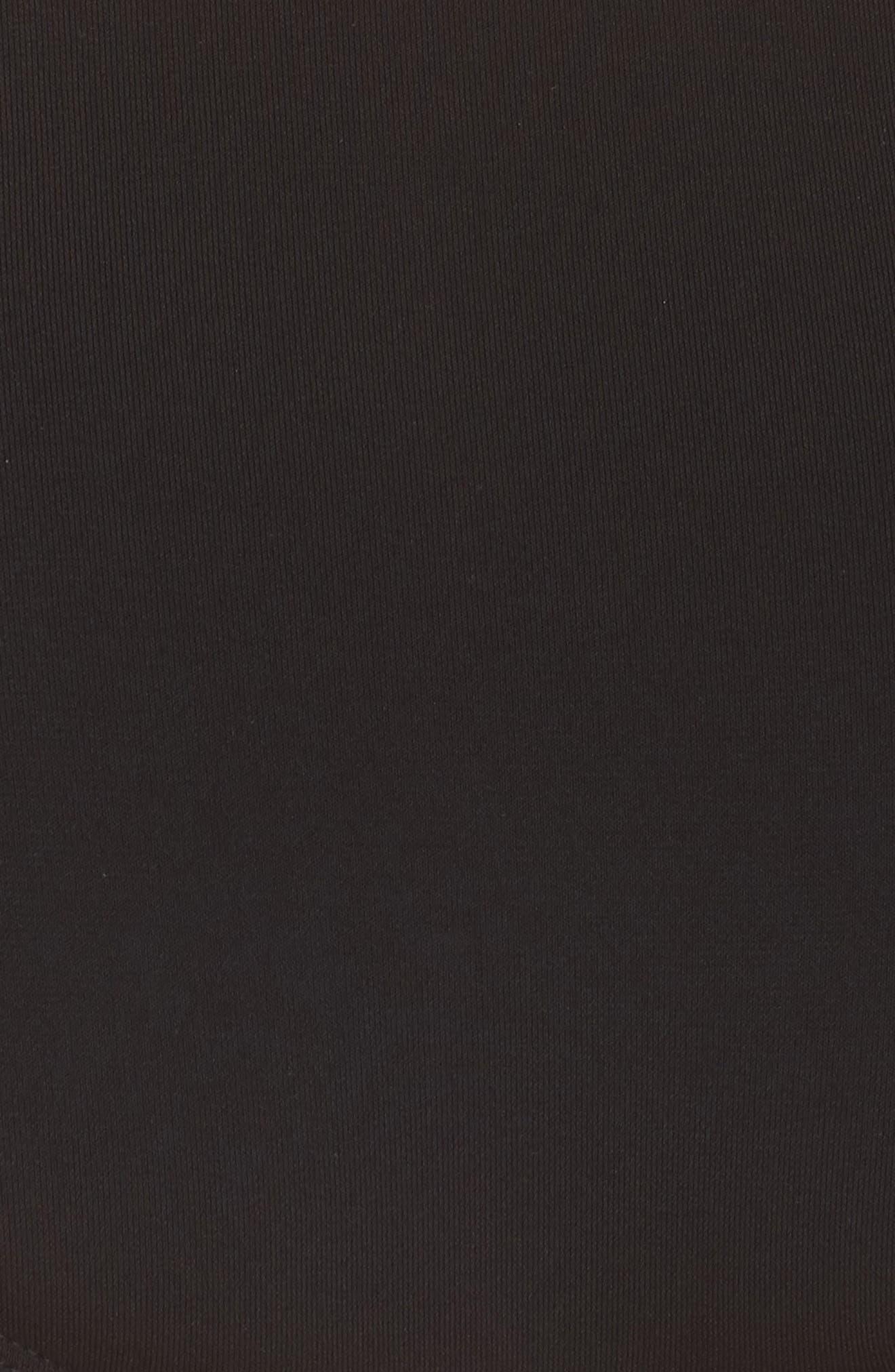 ROBIN PICCONE,                             Luca Halter Bikini Top,                             Alternate thumbnail 6, color,                             BLACK