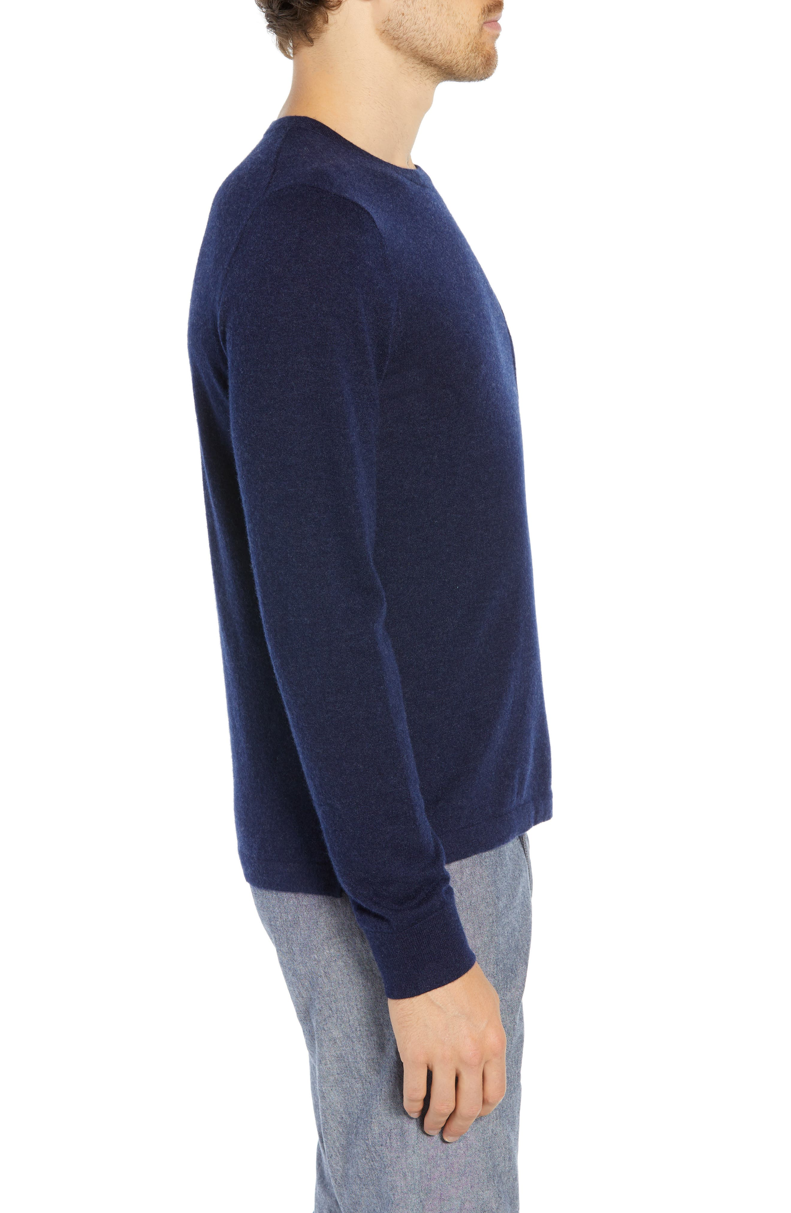 Cashmere Sweater,                             Alternate thumbnail 3, color,                             475