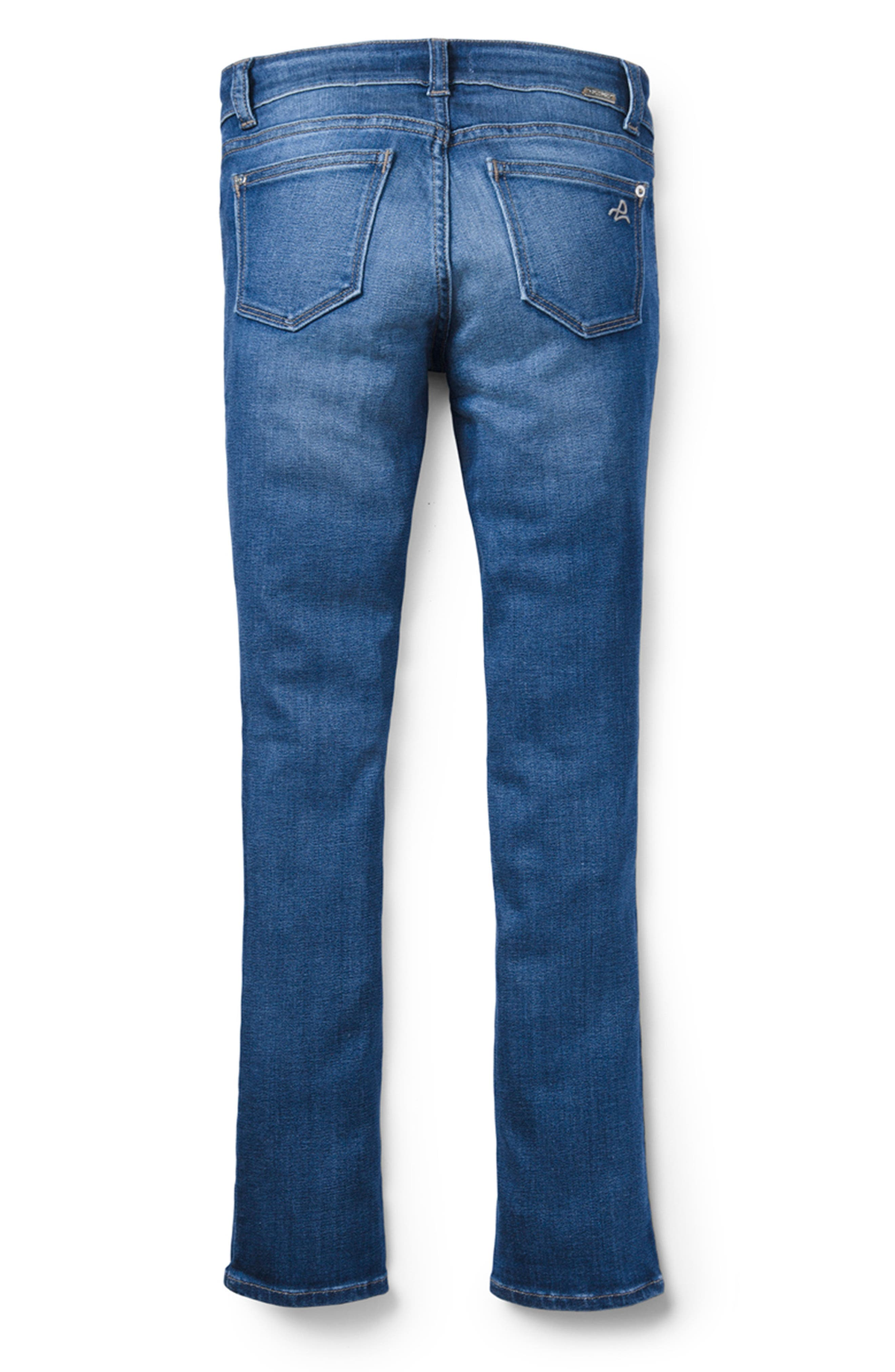 Stretch Skinny Jeans,                             Main thumbnail 1, color,                             BLUE