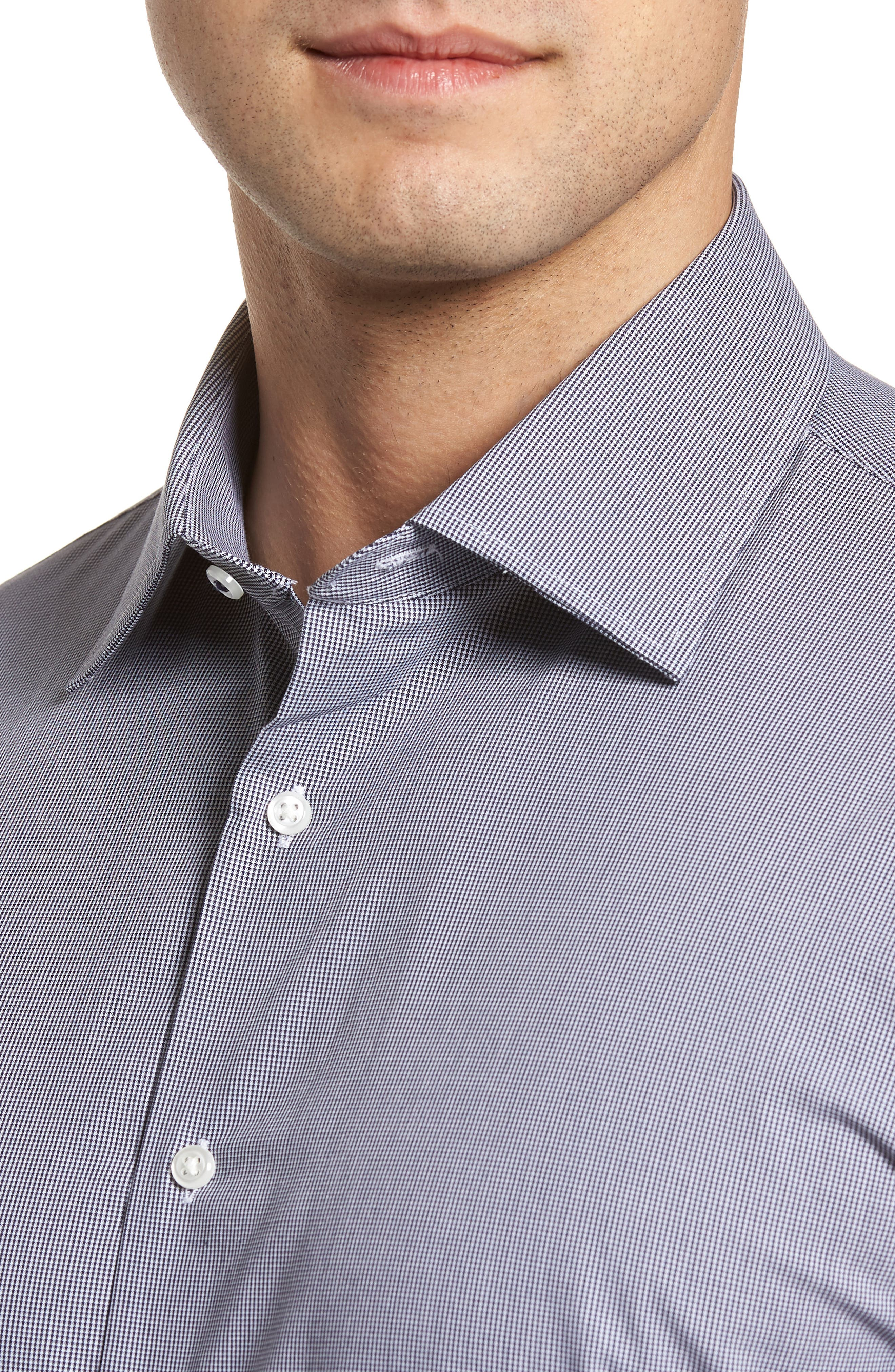 Tech-Smart Traditional Fit Stretch Microdot Dress Shirt,                             Alternate thumbnail 2, color,                             410