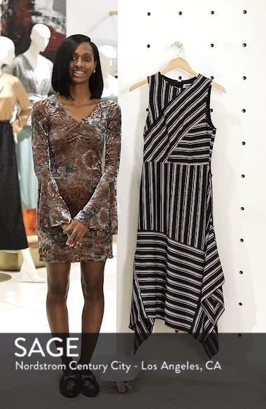 Mix Stripe Midi Dress, sales video thumbnail