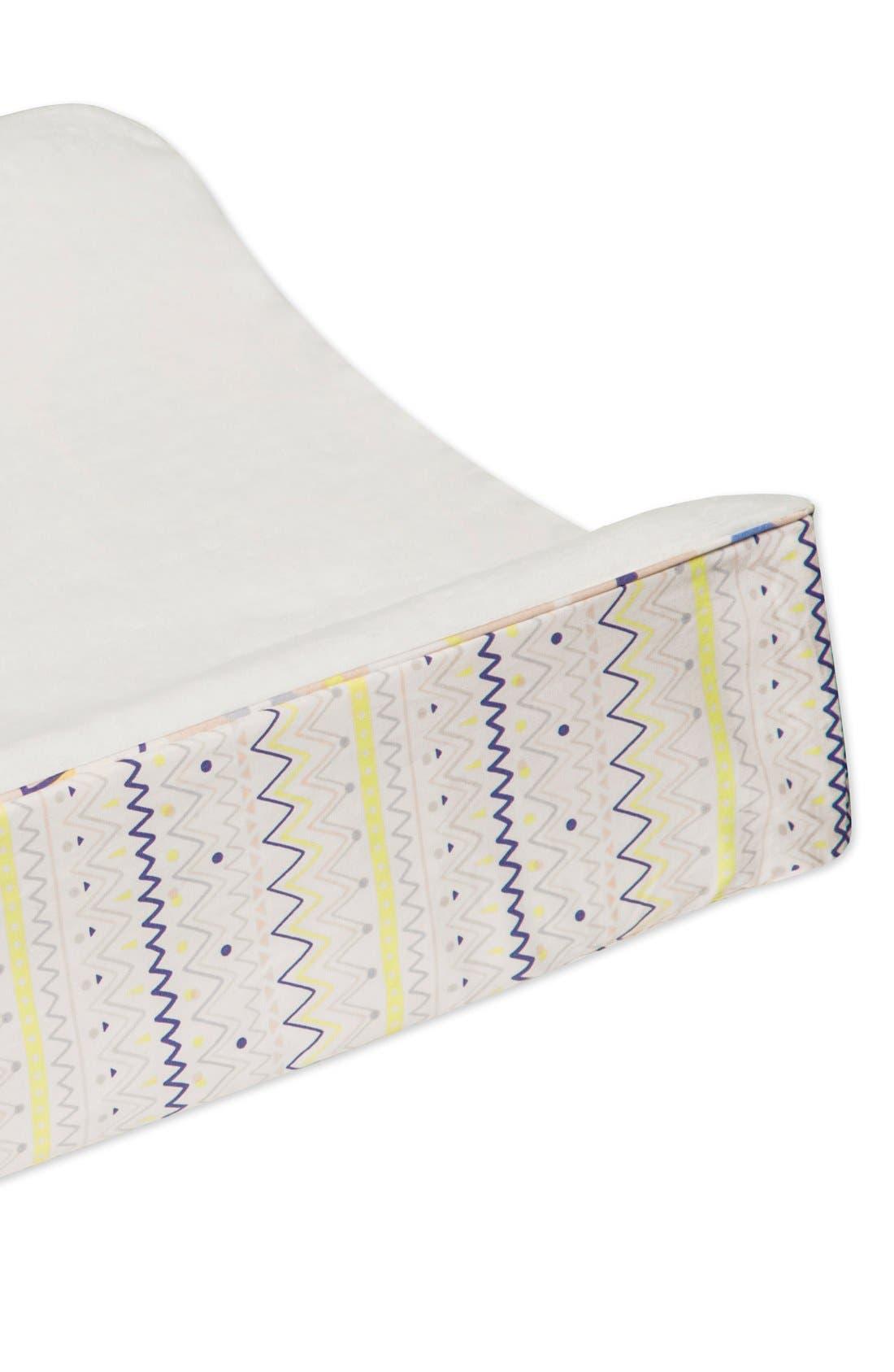 'Desert' Crib Sheet, Crib Skirt, Changing Pad Cover, Play Blanket, Stroller Blanket & Wall Decals,                             Alternate thumbnail 2, color,                             OFF WHITE