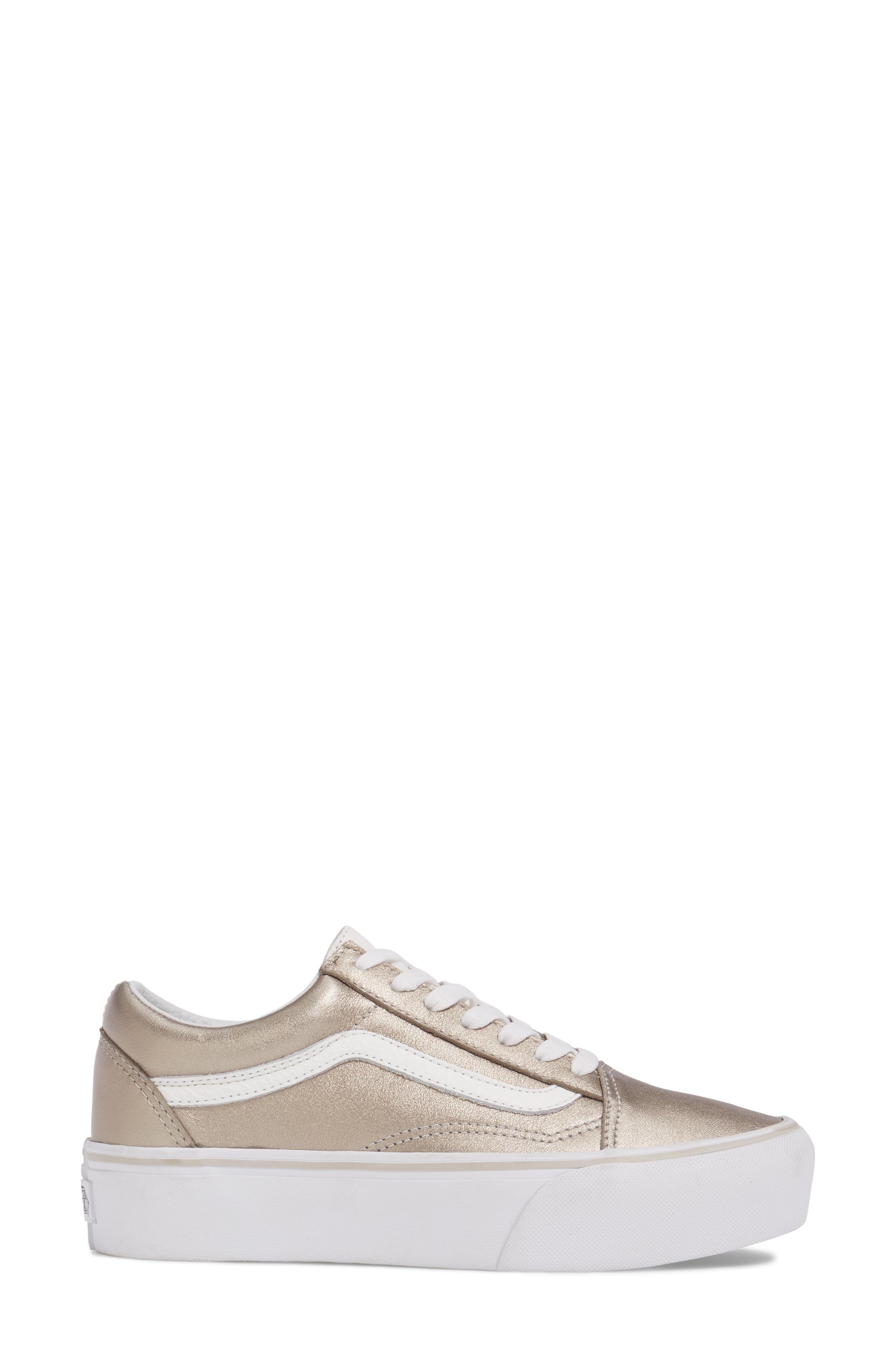Old Skool Platform Sneaker,                             Alternate thumbnail 15, color,