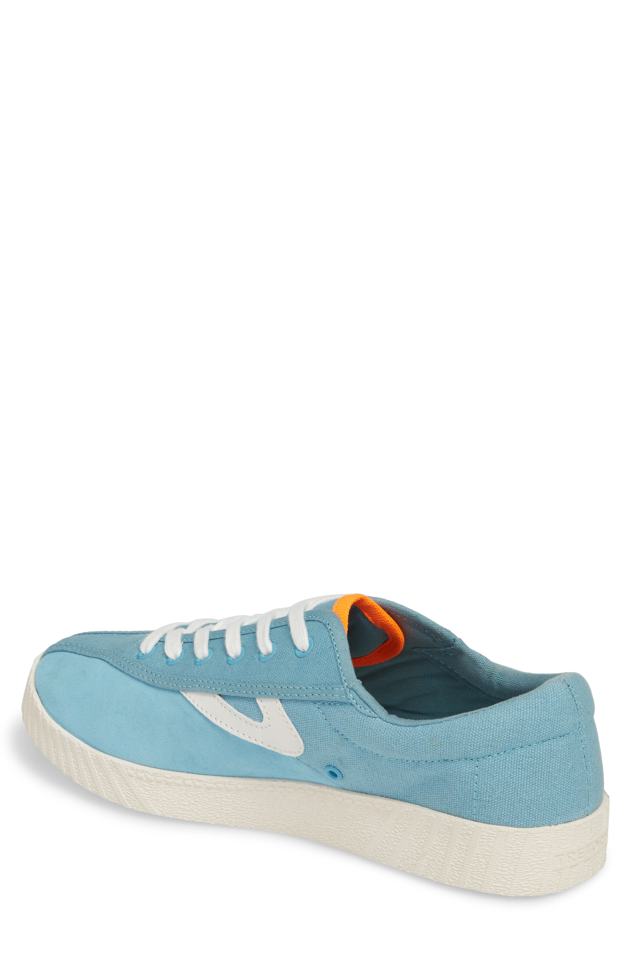 Andre 3000 Nylite Low Top Sneaker,                             Alternate thumbnail 2, color,                             BABY BLUE CANVAS